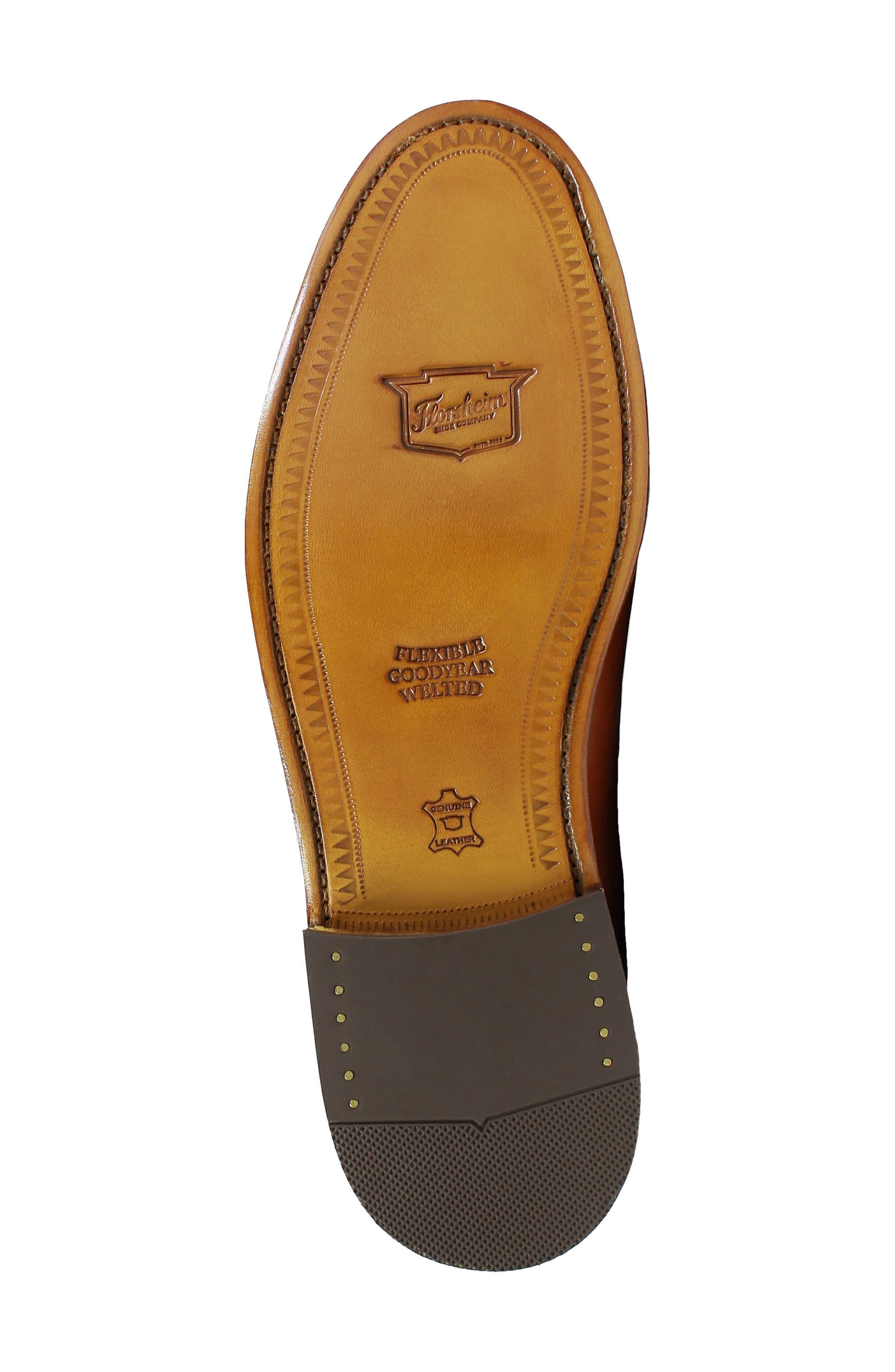 'Heritage' Wingtip,                             Alternate thumbnail 6, color,                             Cognac Leather/ Mesh