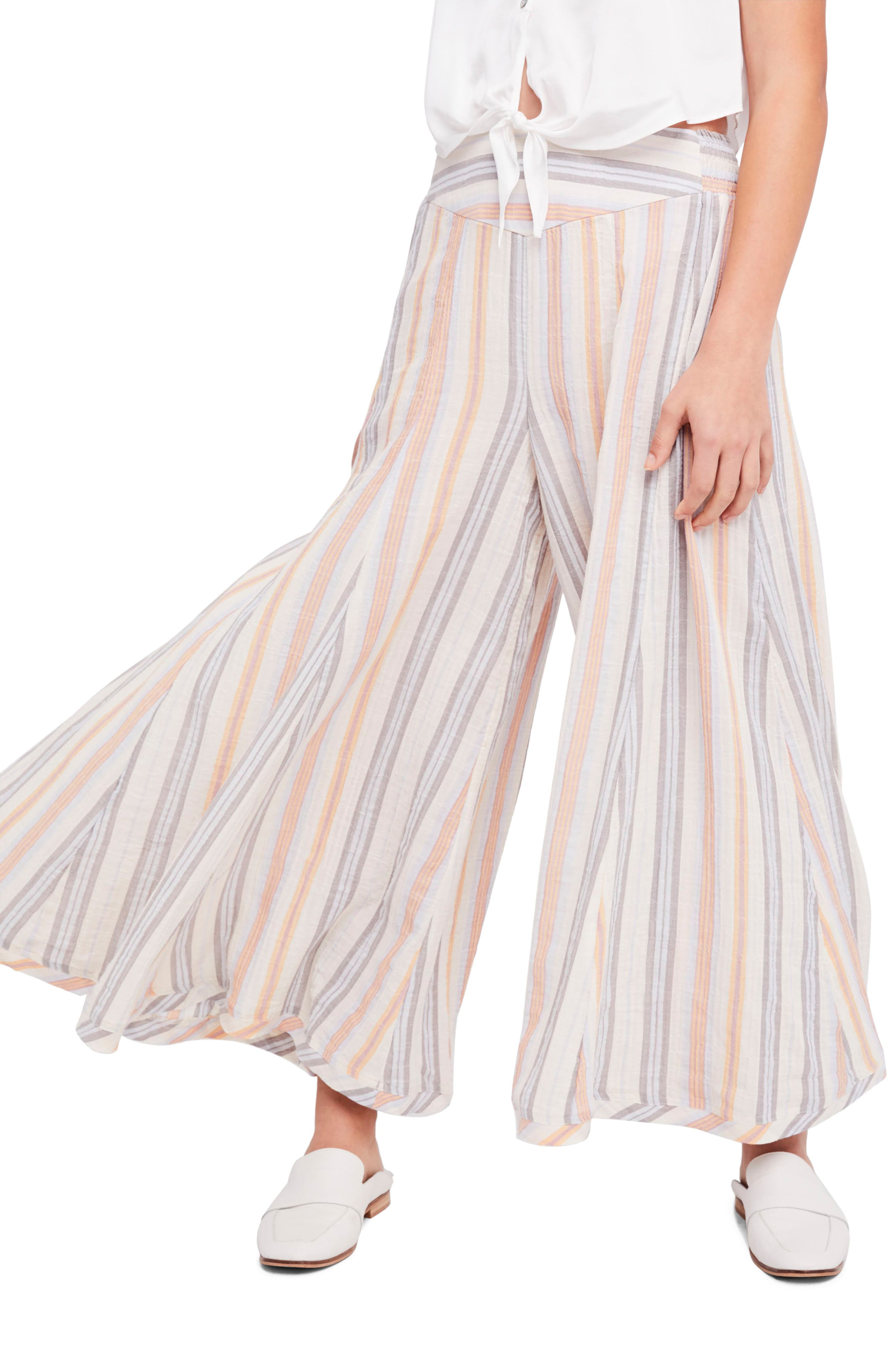 Blaire Culottes,                         Main,                         color, Ivory