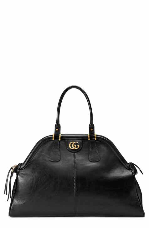 0a28a6e6ff63 Gucci Large RE(BELLE) Leather Satchel