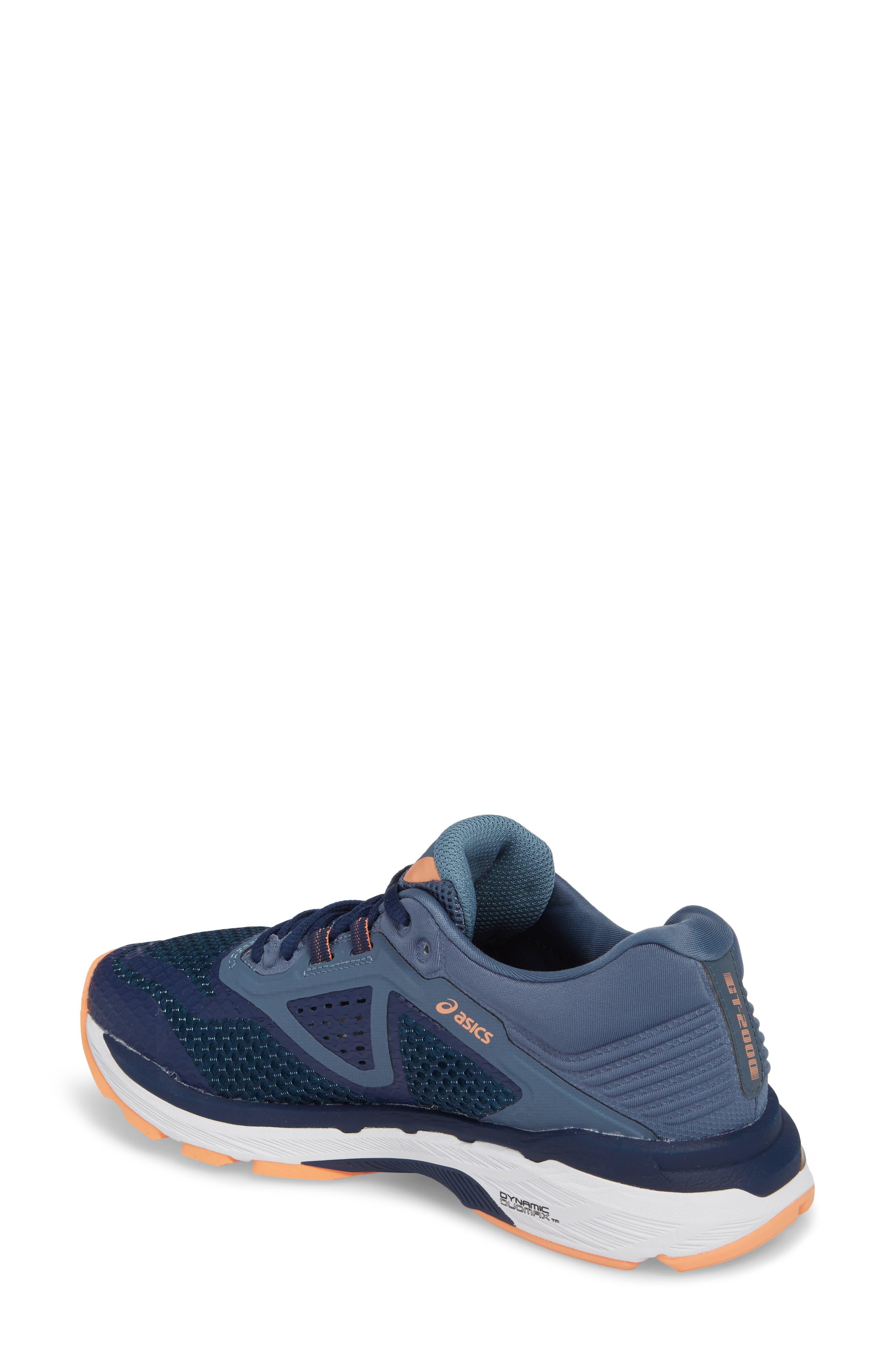 GT-2000 6 Running Shoe,                             Alternate thumbnail 2, color,                             Indigo Blue/ Smoke Blue