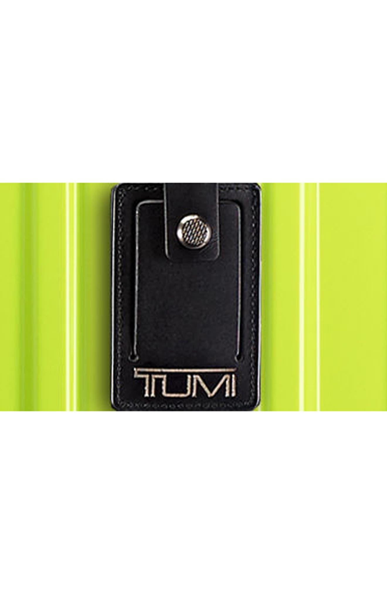 V3 22-Inch International Spinner Packing Case,                             Alternate thumbnail 5, color,                             Citron