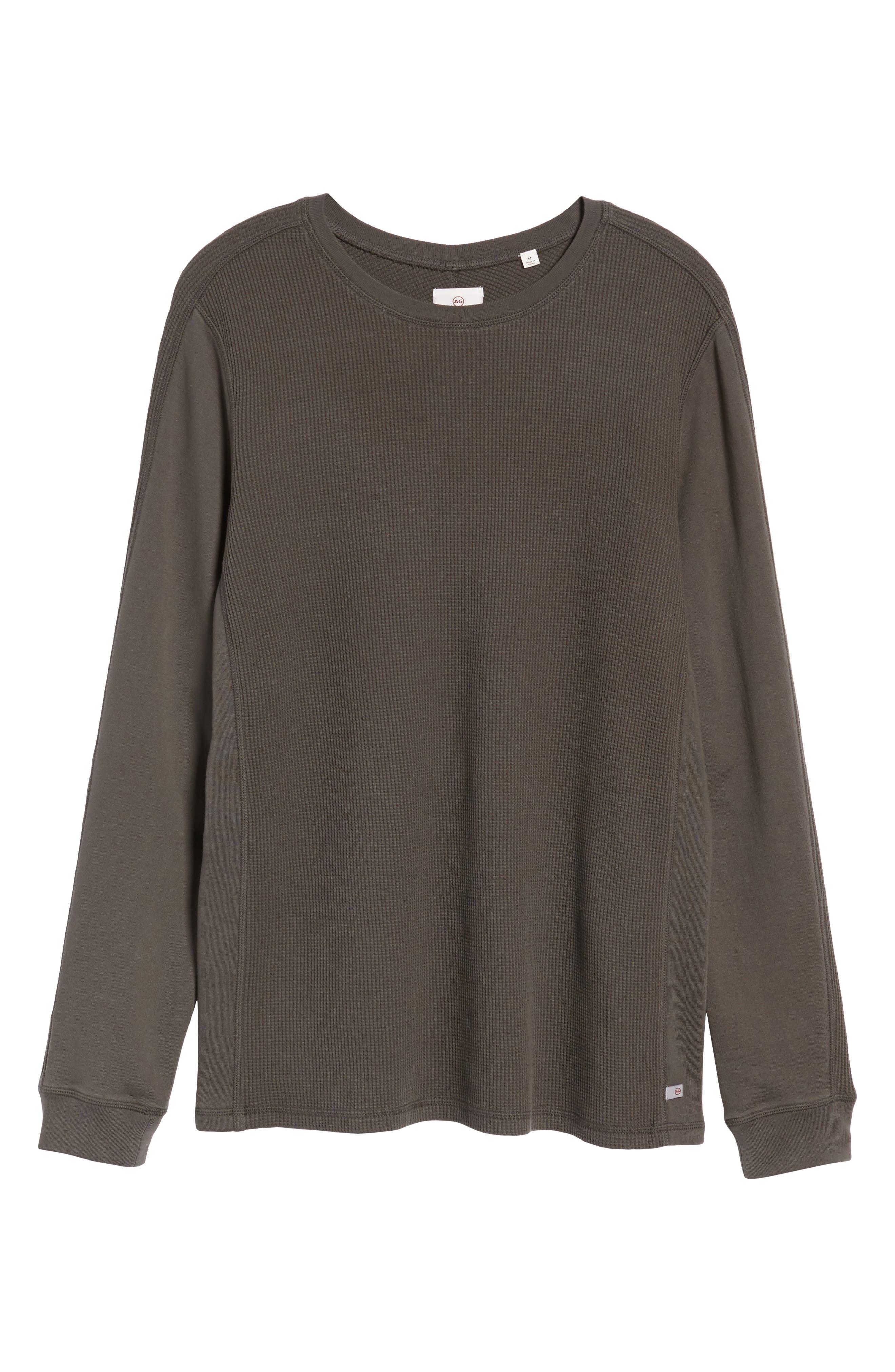 Alternate Image 6  - AG Trevor Slim Fit Crewneck Shirt
