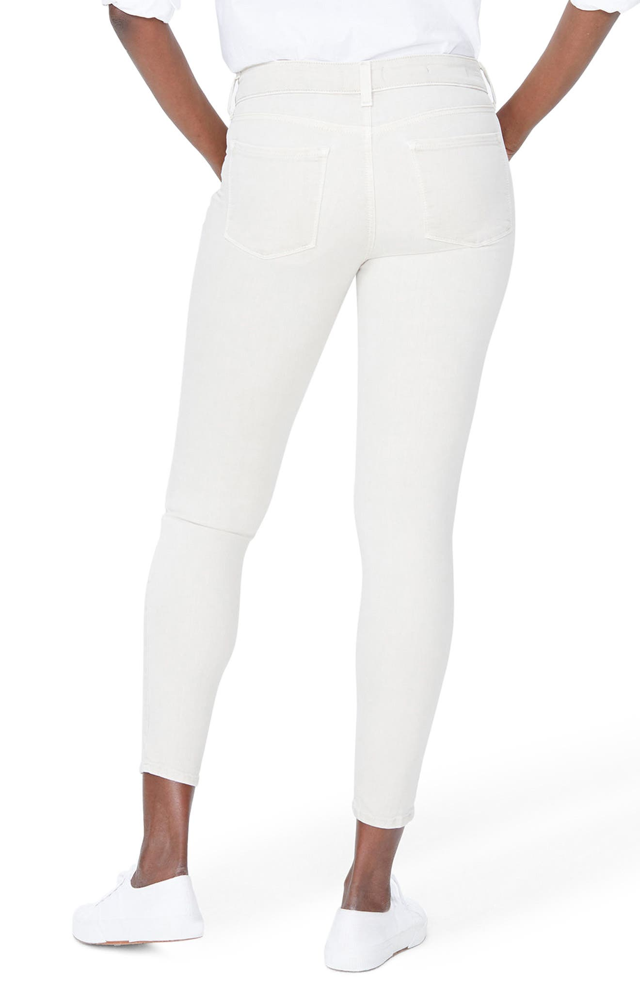 Ami Ankle Skinny Jeans,                             Alternate thumbnail 2, color,                             Feather