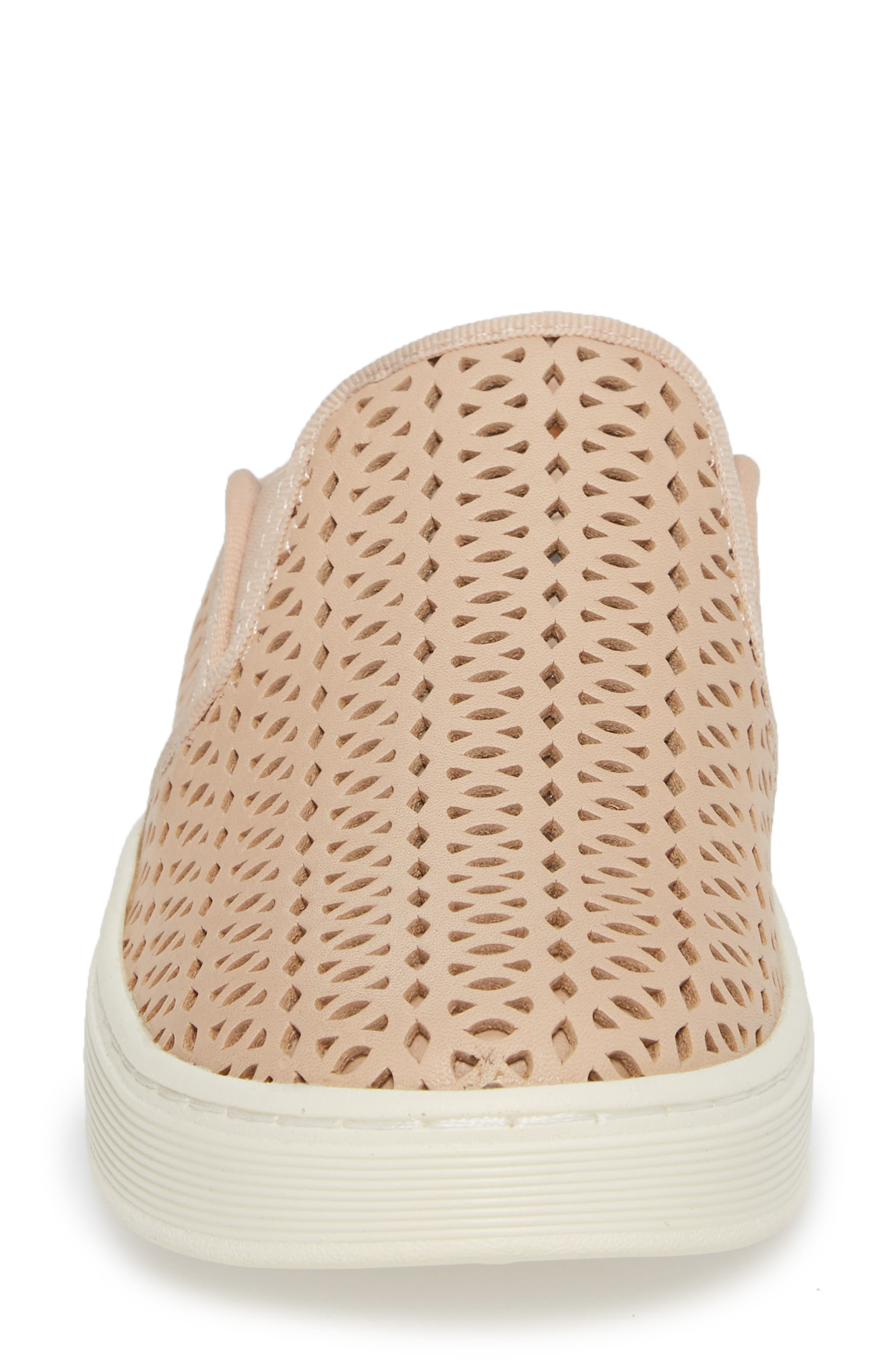 Somers II Sneaker Mule,                             Alternate thumbnail 4, color,                             Blush Leather