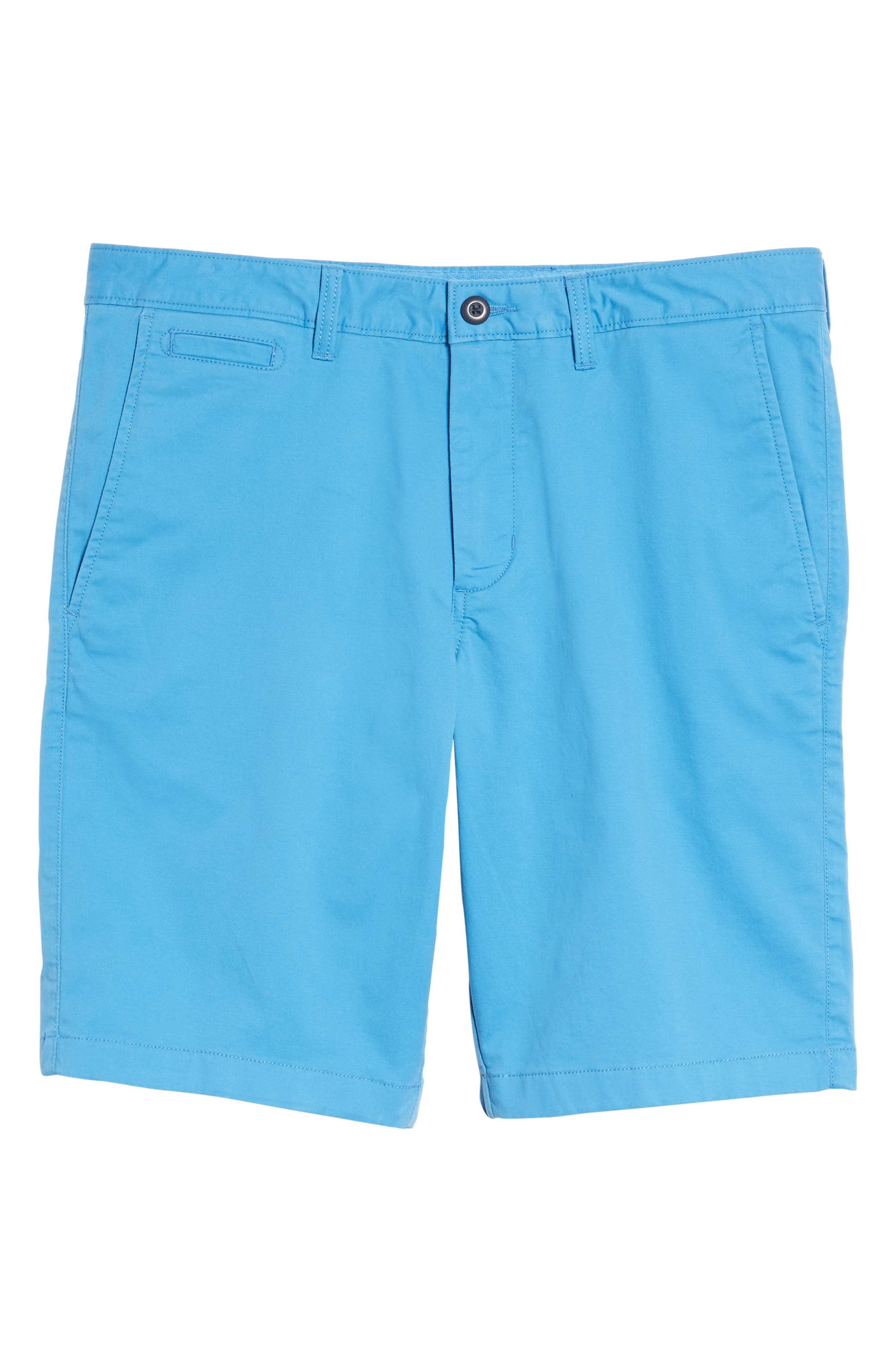 Ballard Slim Fit Stretch Chino 11-Inch Shorts,                             Alternate thumbnail 8, color,                             Blue Camp