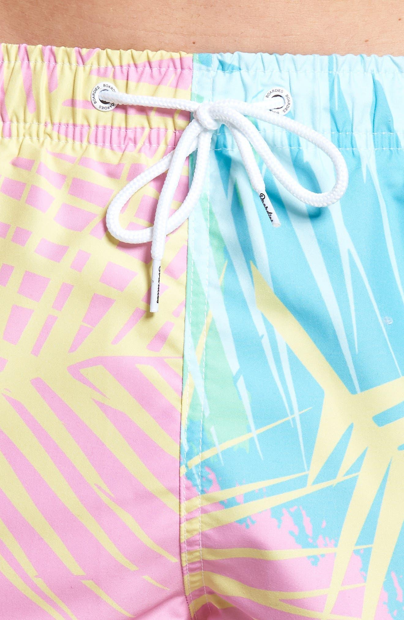 Tropicano Swim Trunks,                             Alternate thumbnail 4, color,                             Multi