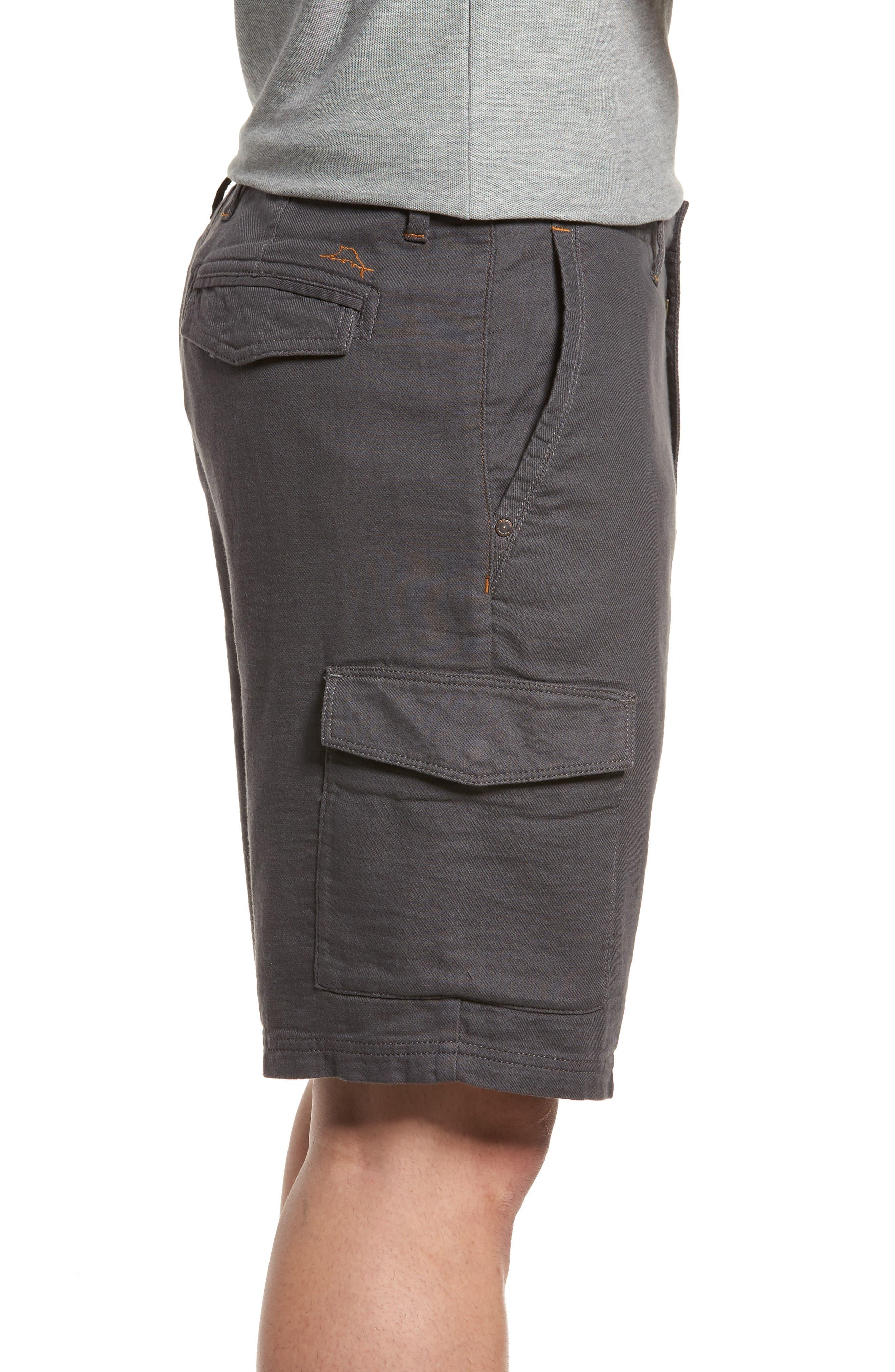 Alternate Image 4  - Tommy Bahama Edgewood Cargo Shorts