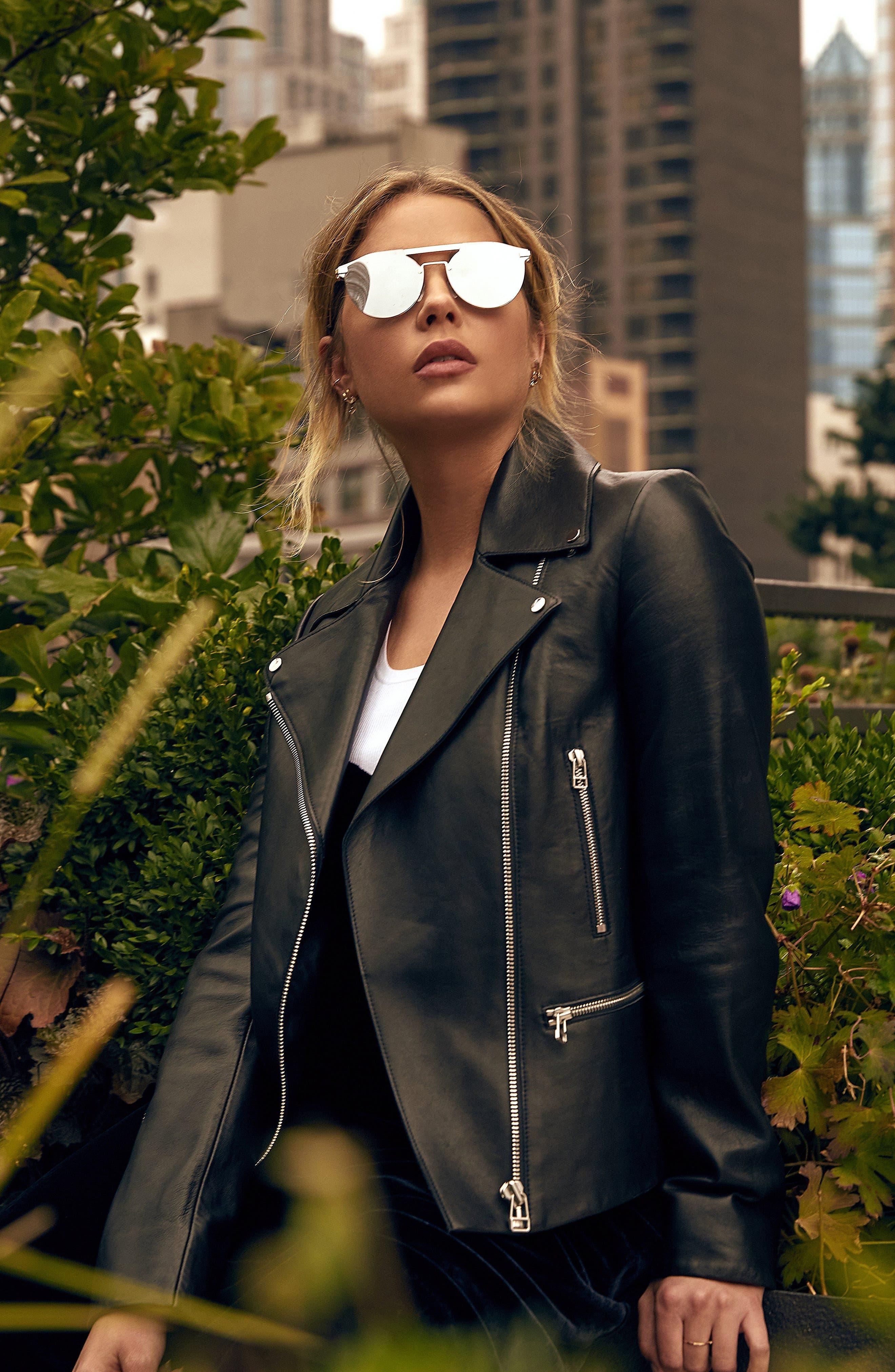 Alternate Image 2  - Privé Revaux The Parisian 62mm Aviator Sunglasses