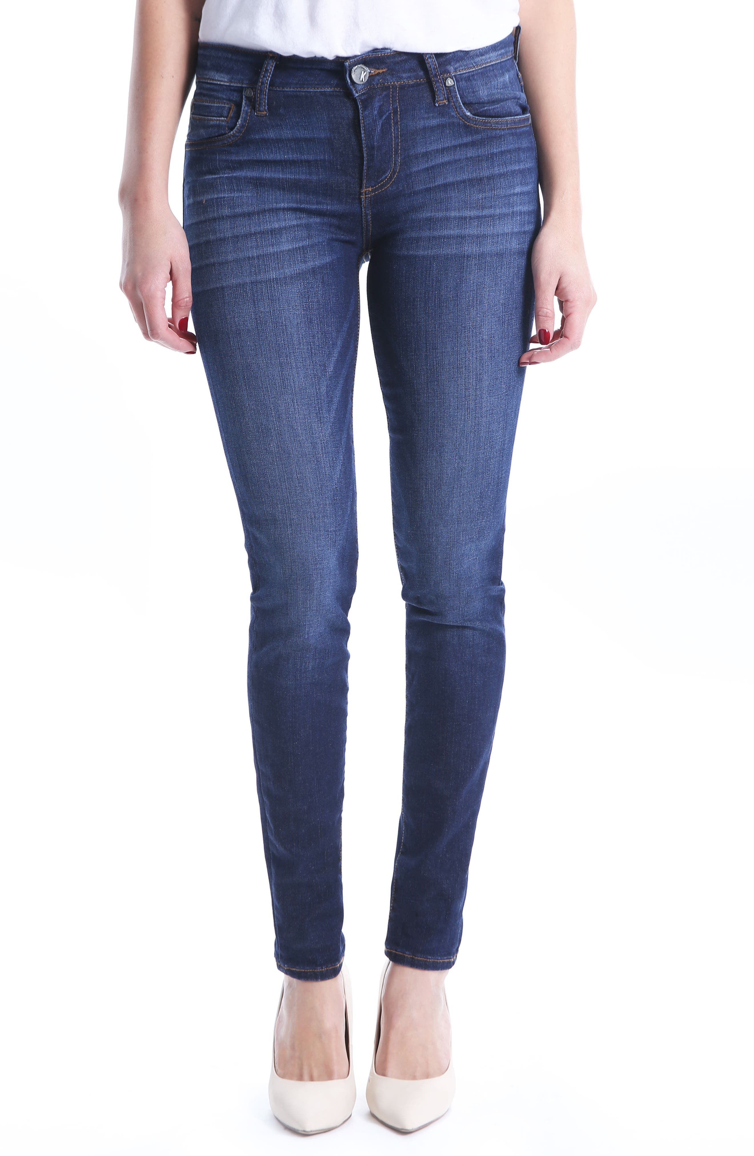 KUT from the Kloth Diana Skinny Jeans (Regular & Petite) (Goodly). New  Markdown