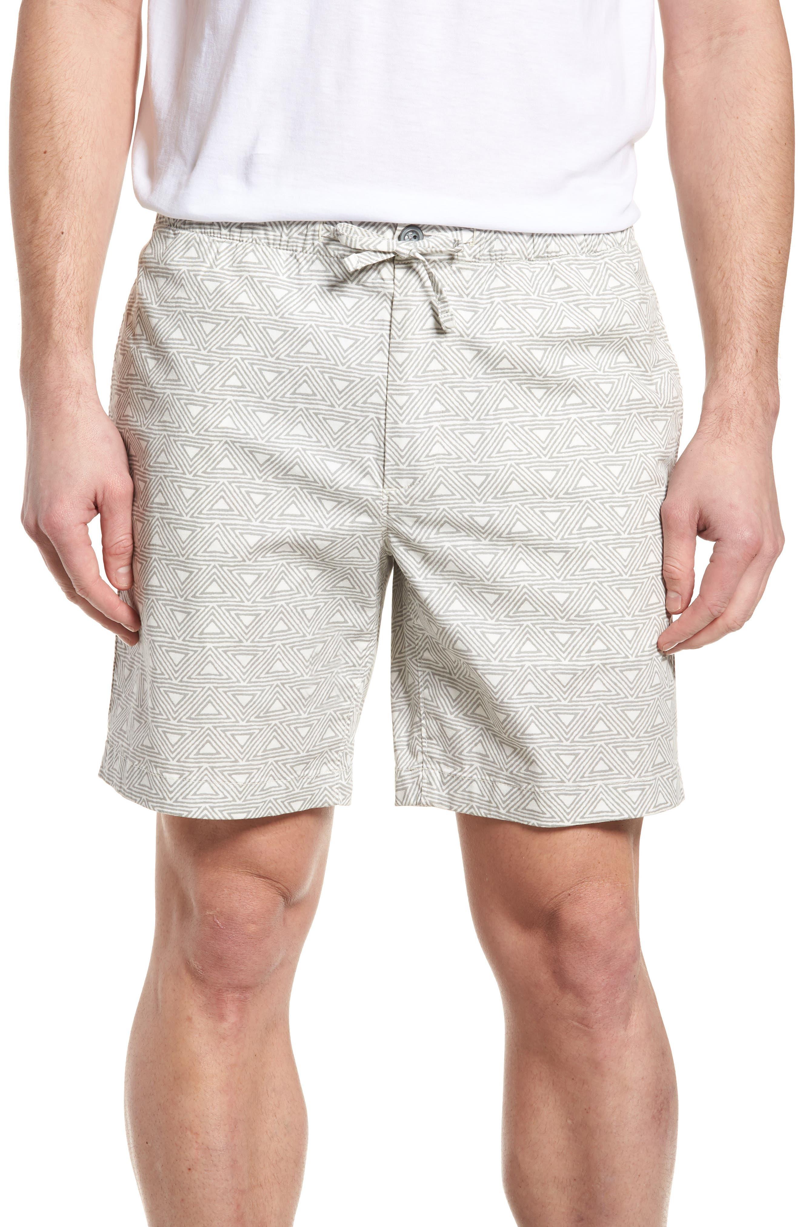 Print Shorts,                         Main,                         color, Hang Ten Geo