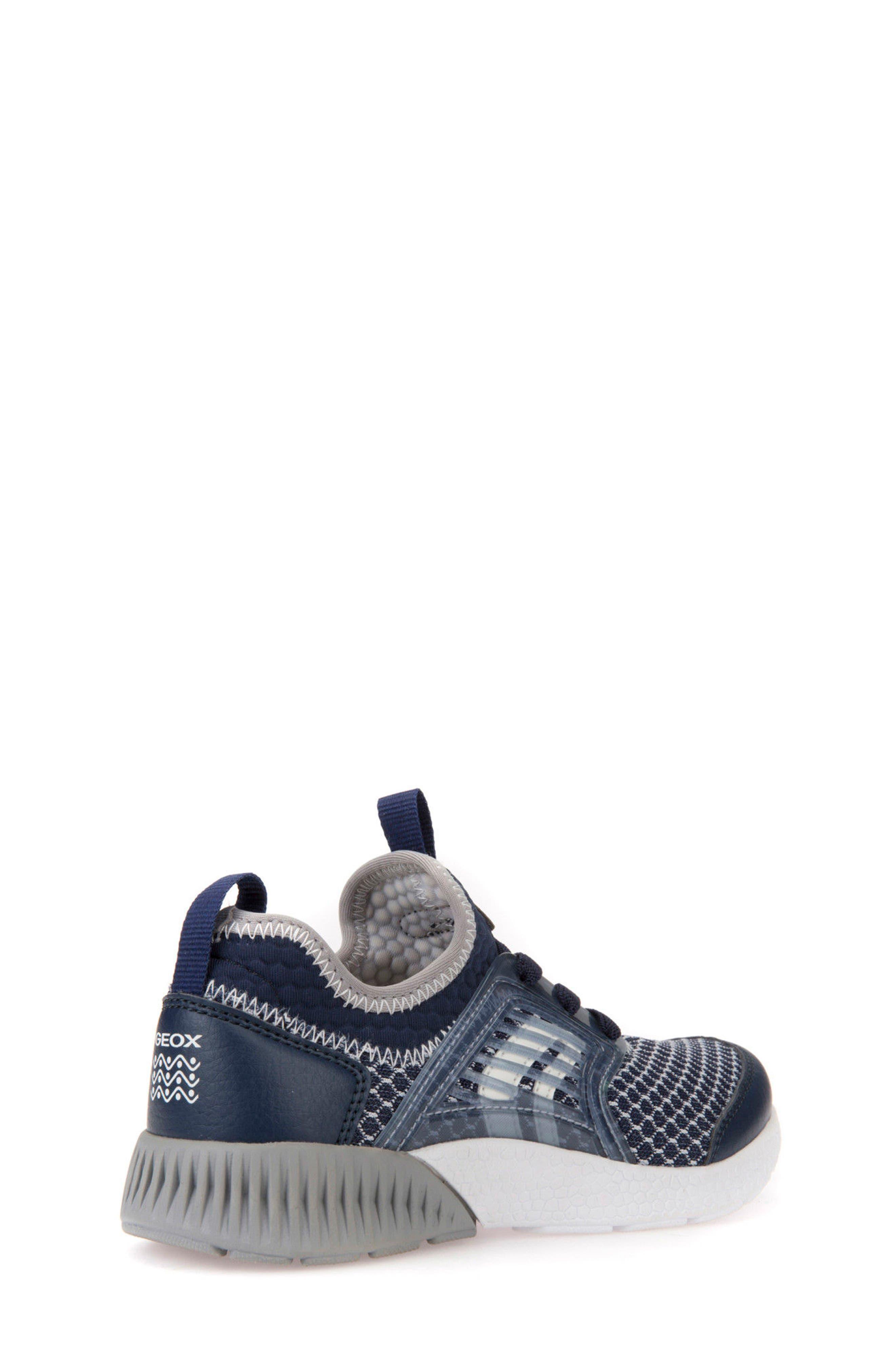 Sveth Sock Sneaker,                             Alternate thumbnail 2, color,                             Navy/ Grey