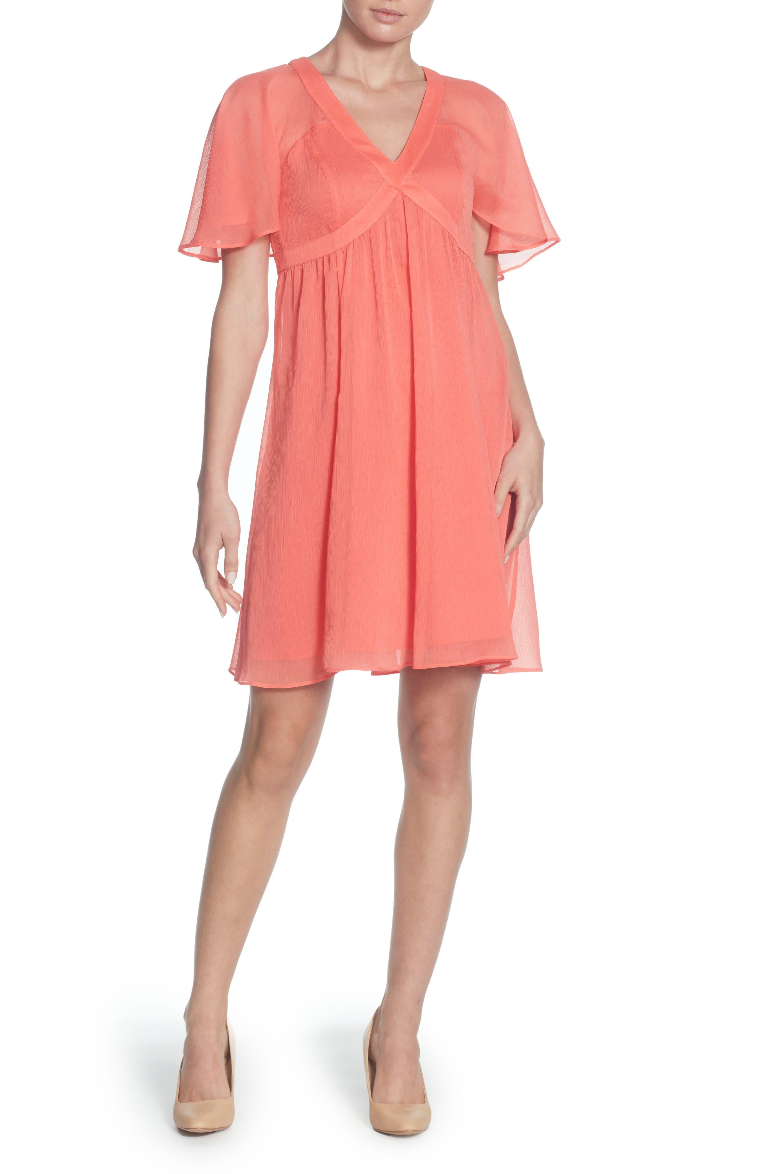 Odom Skater Dress,                         Main,                         color, Porcelain Rose