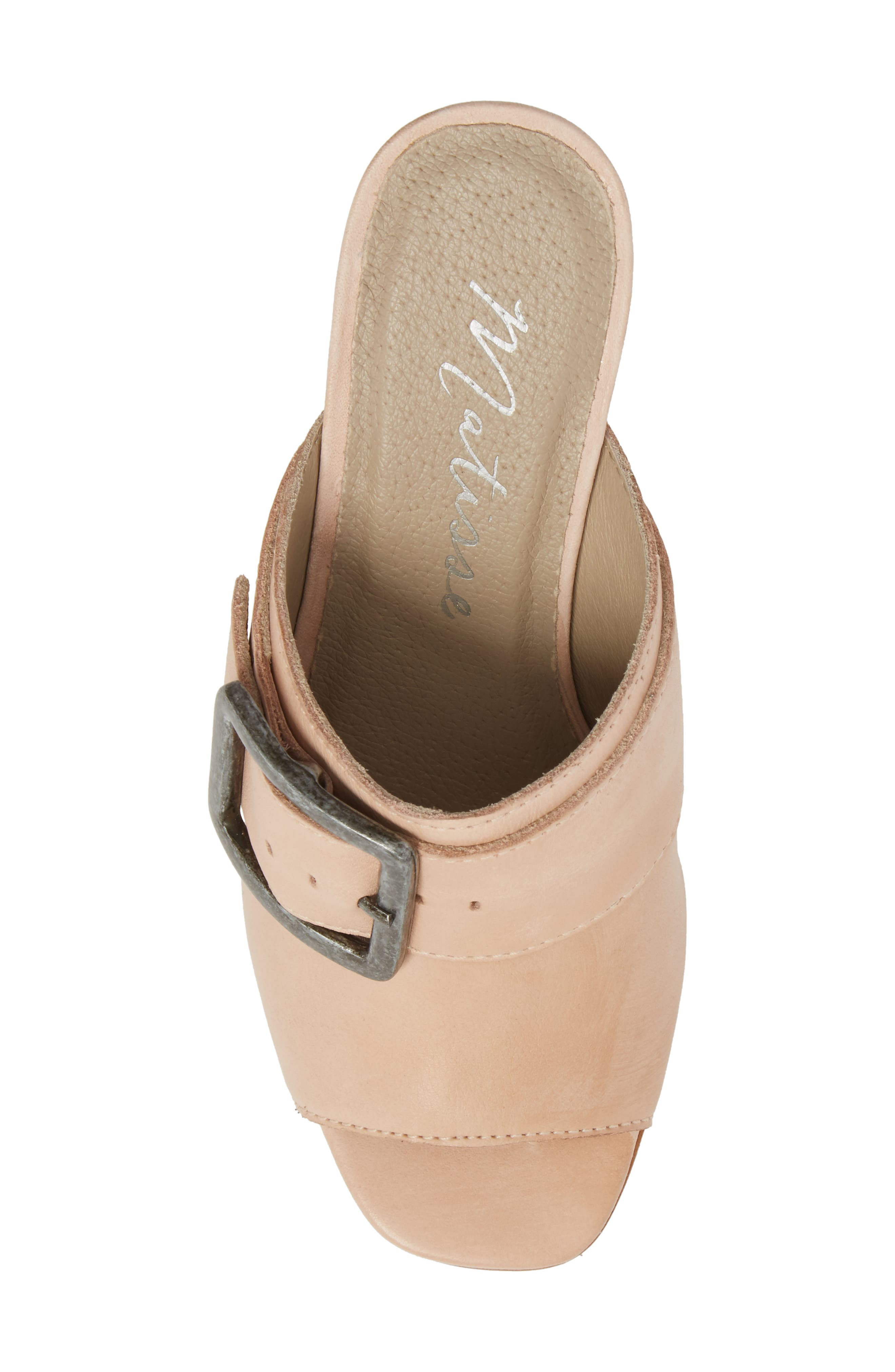 Beatrice Sandal,                             Alternate thumbnail 5, color,                             Nude Leather