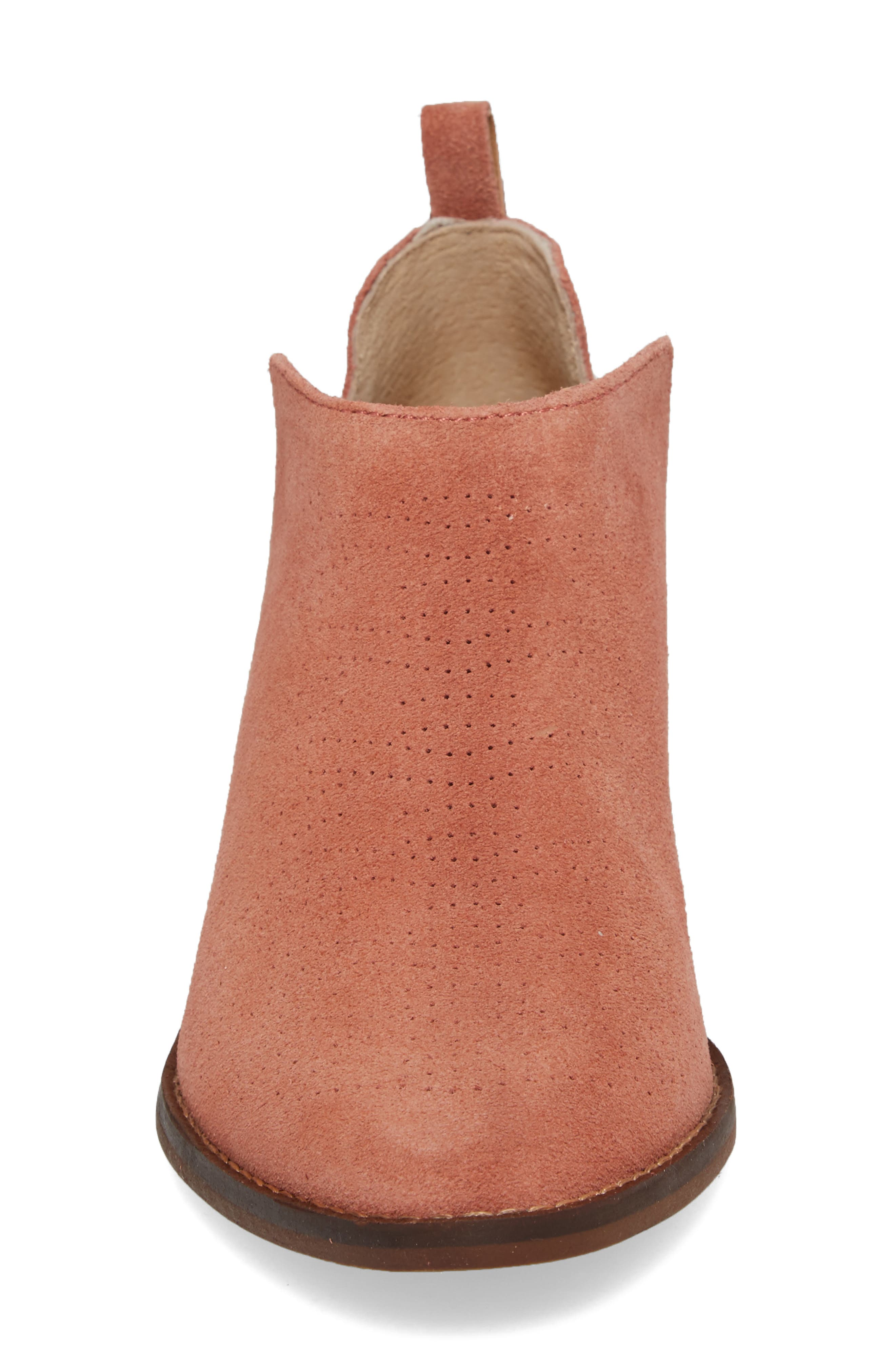 Fayth Bootie,                             Alternate thumbnail 4, color,                             Canyon Rose Suede