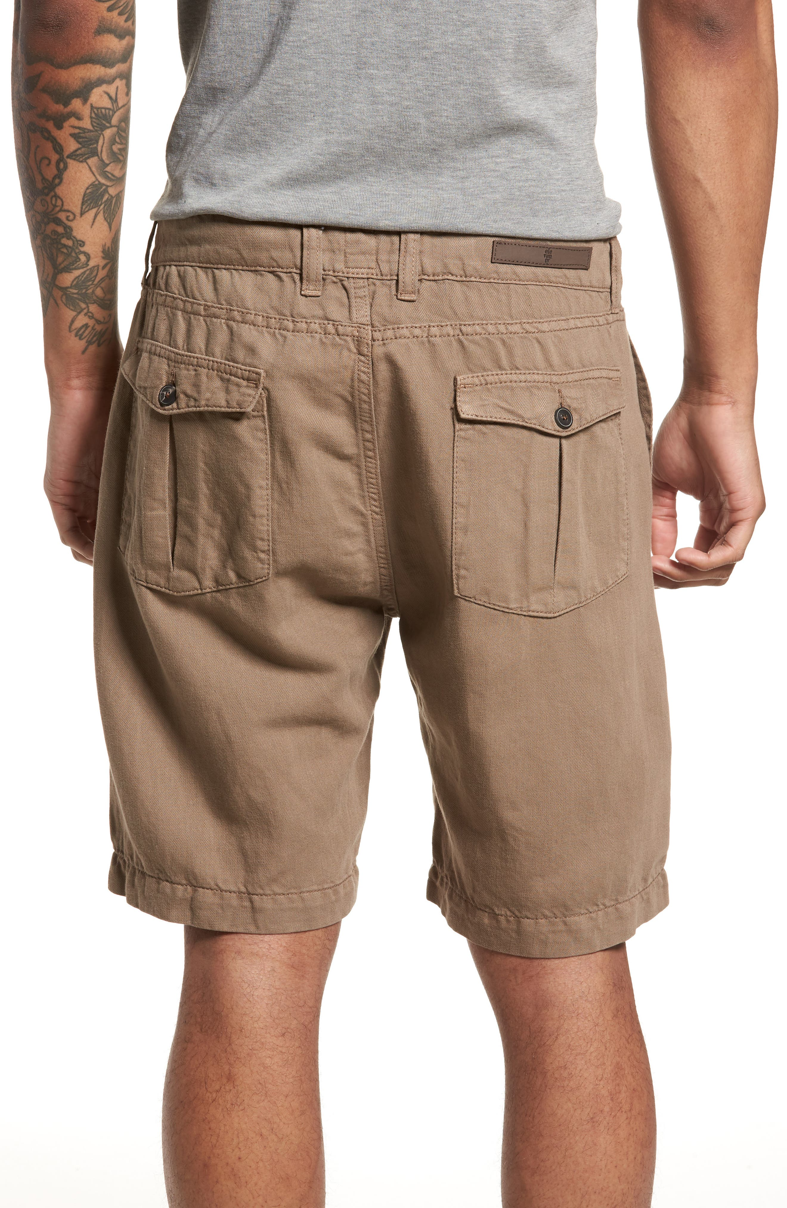 Fatique Bermuda Shorts,                             Alternate thumbnail 2, color,                             Taupe