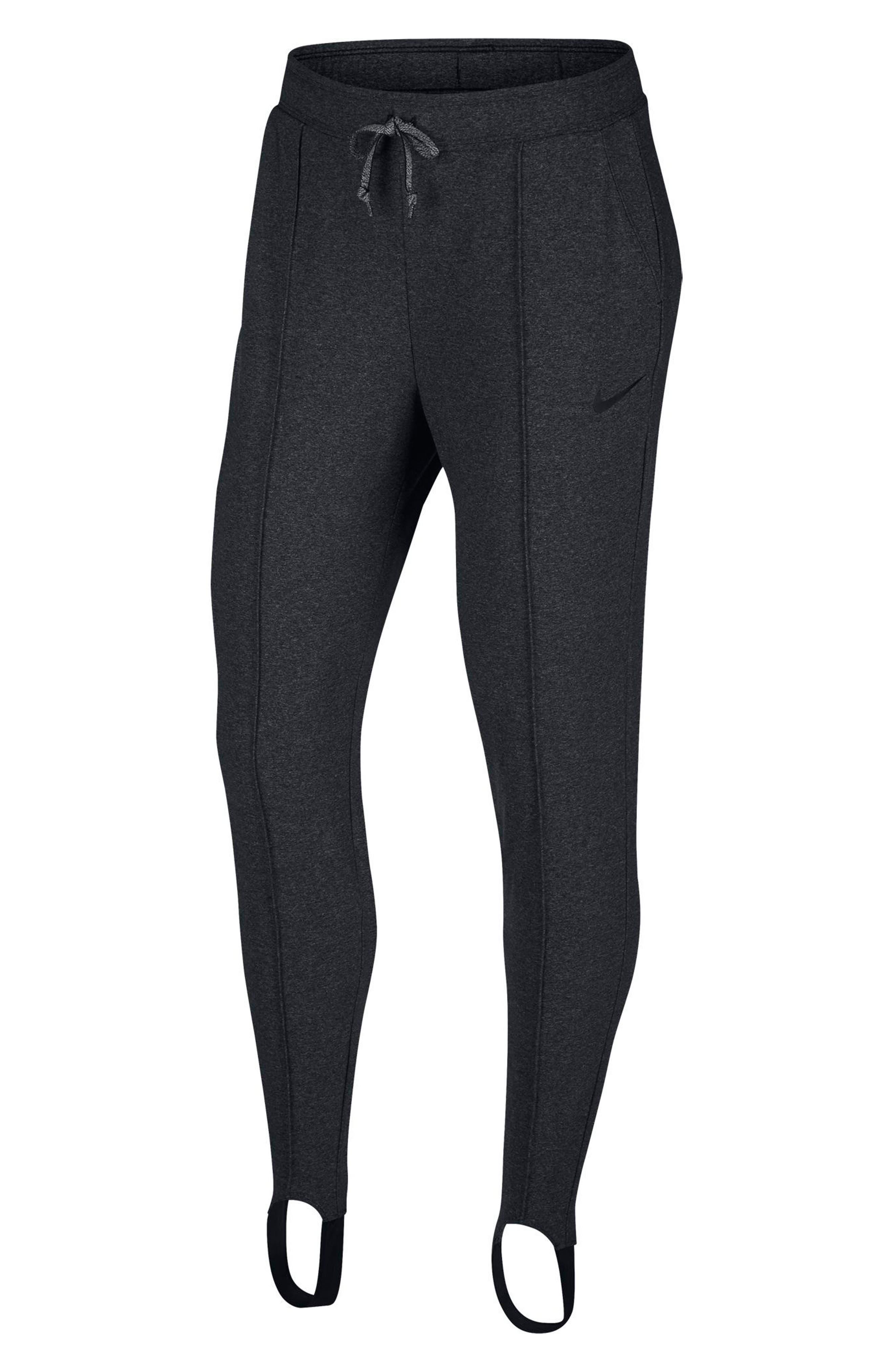 Dry Training Pants,                         Main,                         color, Black/ Heather/ Black