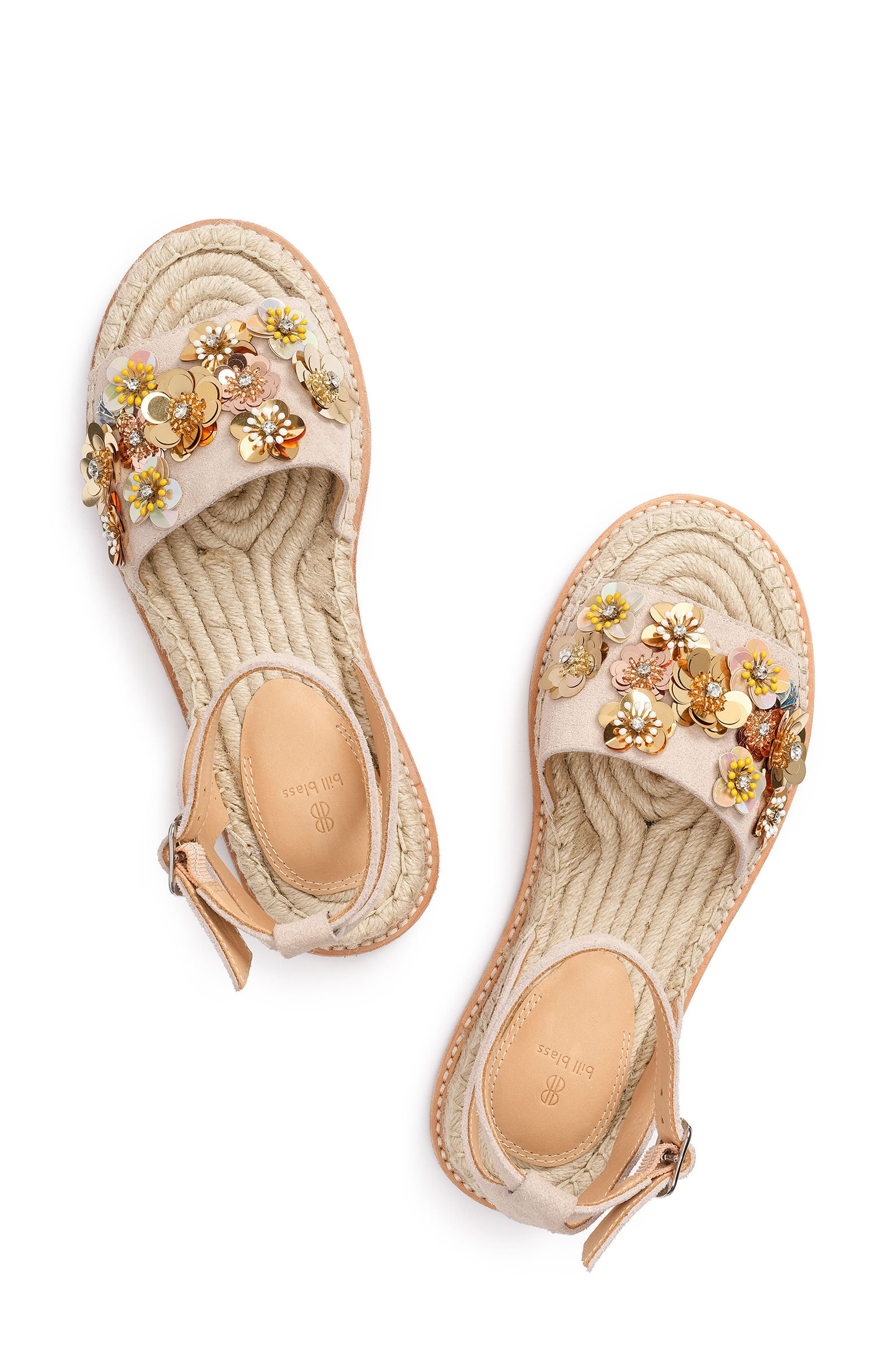 Bill Blass Women's Bromley Floral Embellished Espadrille