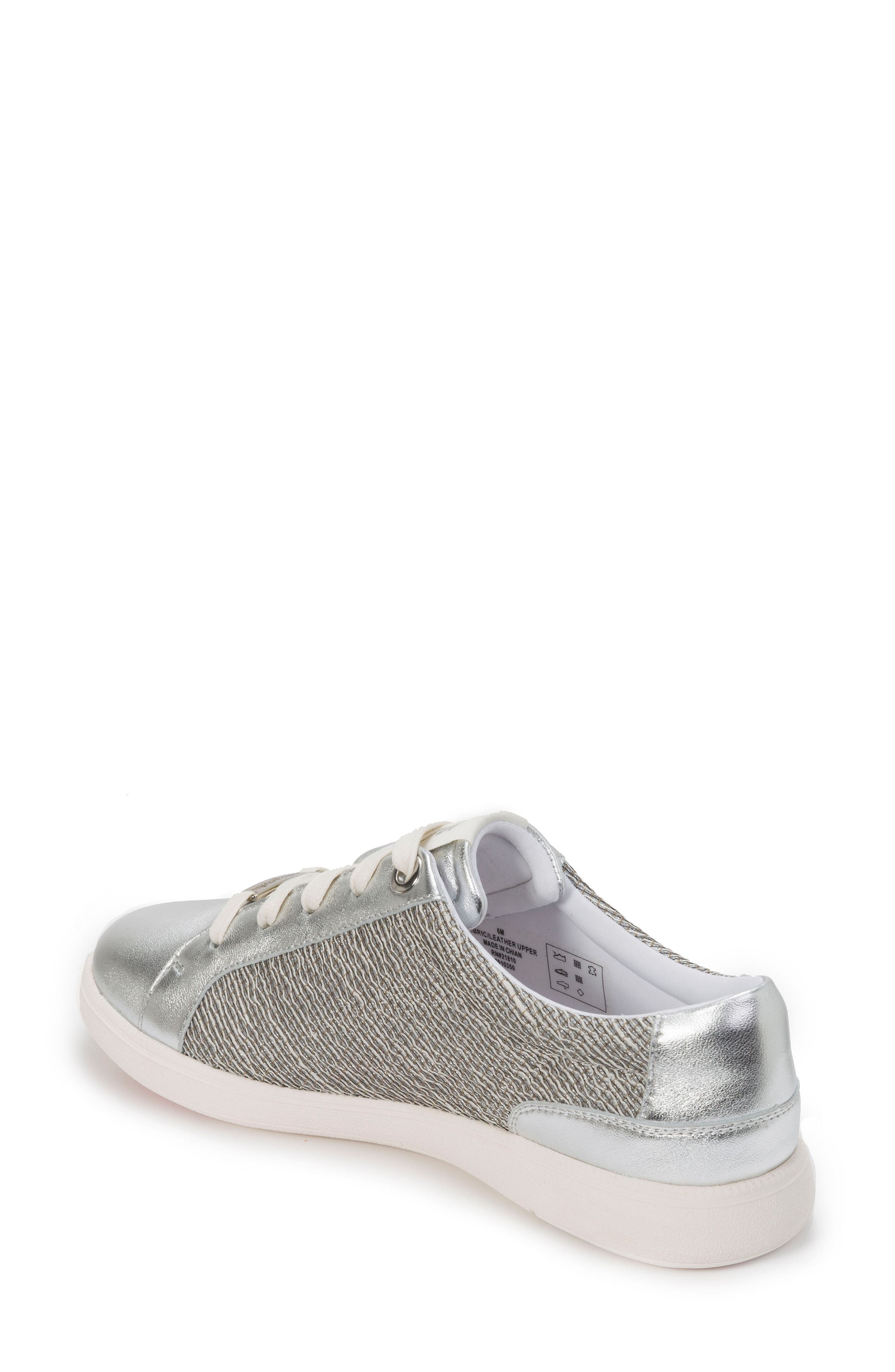 Andi Sneaker,                             Alternate thumbnail 2, color,                             Silver Leather