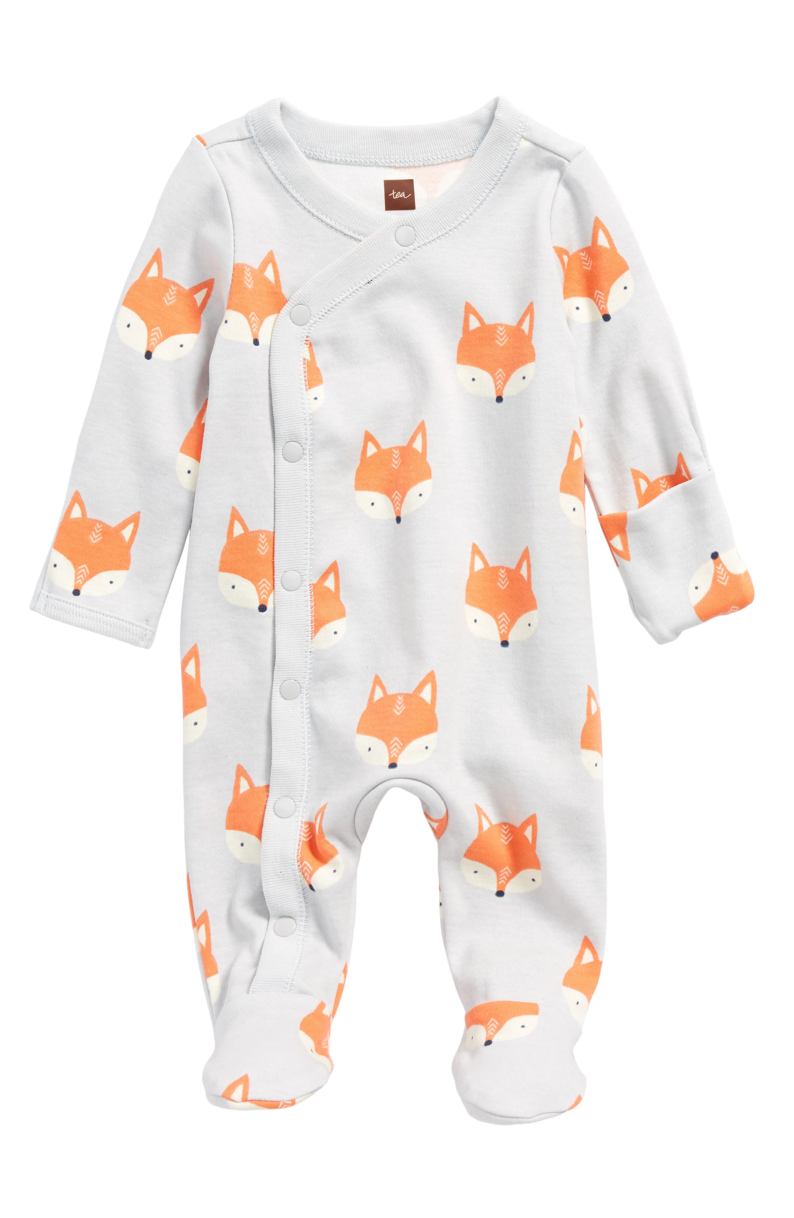 Print Footie,                         Main,                         color, Foxes