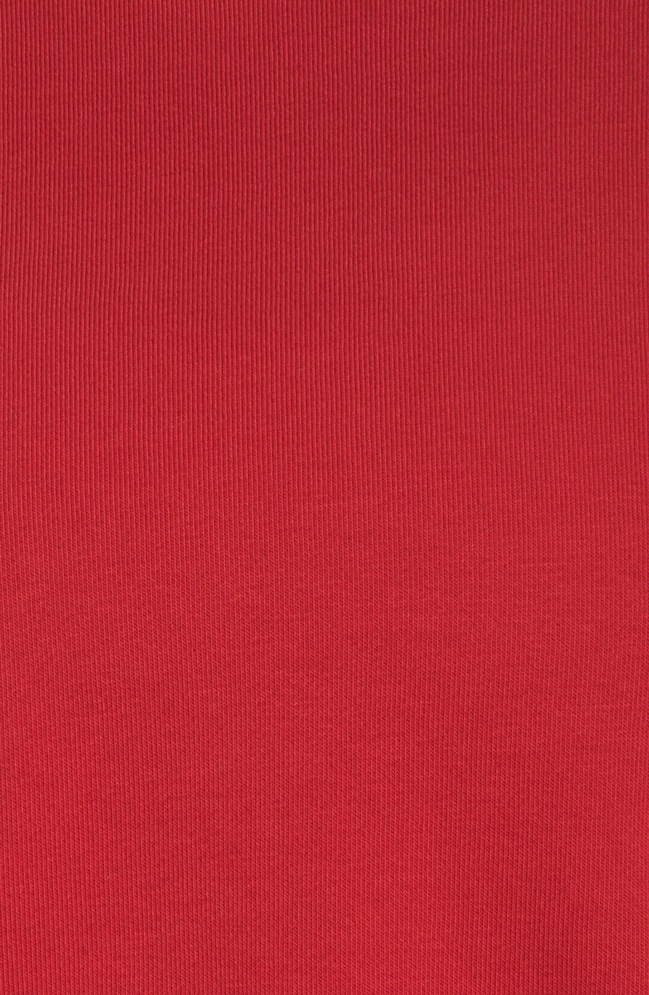 Dry Versa Training Top,                             Alternate thumbnail 5, color,                             Gym Red/ Black