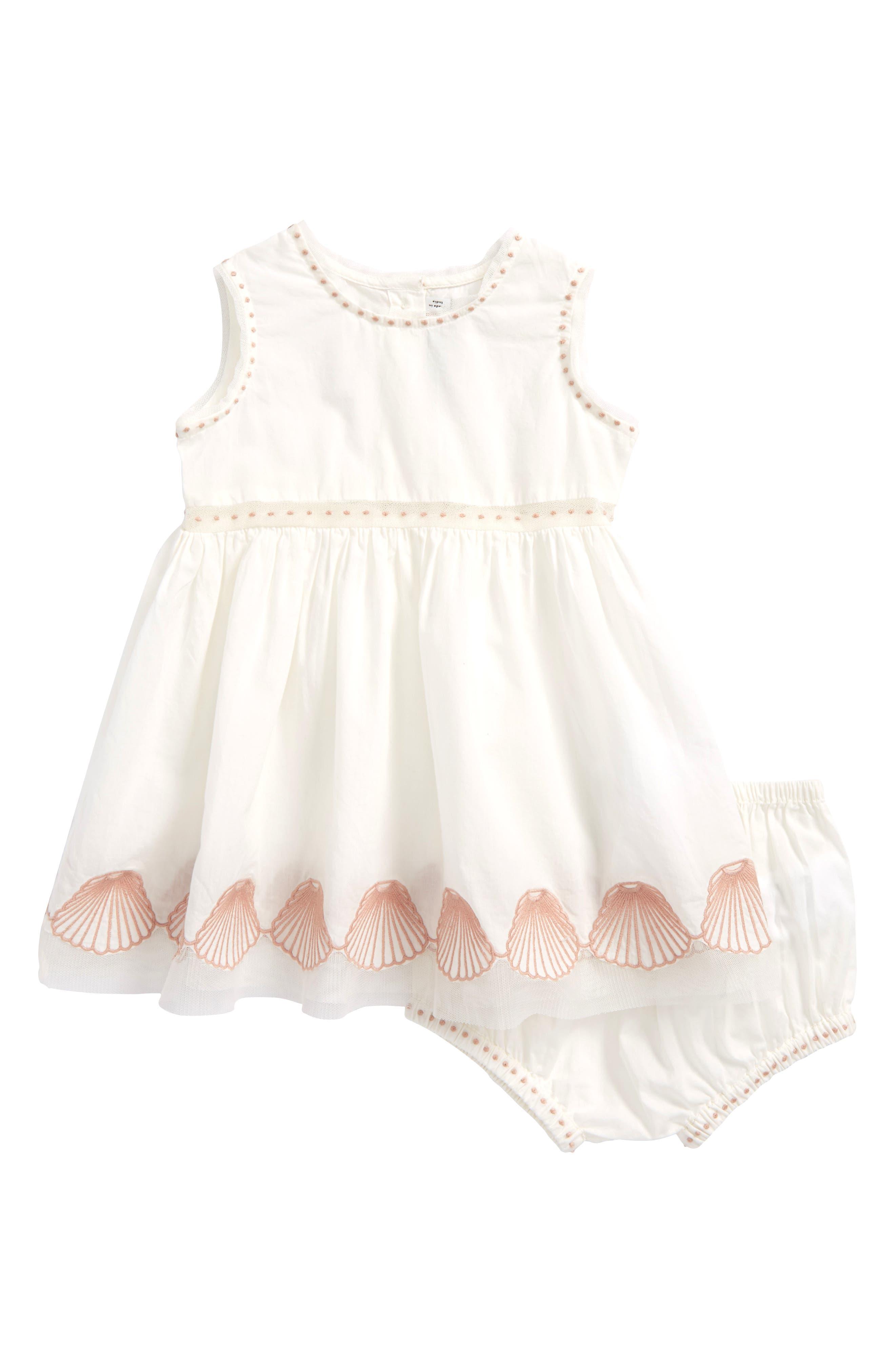 Stella McCartney Gabby Seashell Dress (Baby Girls)