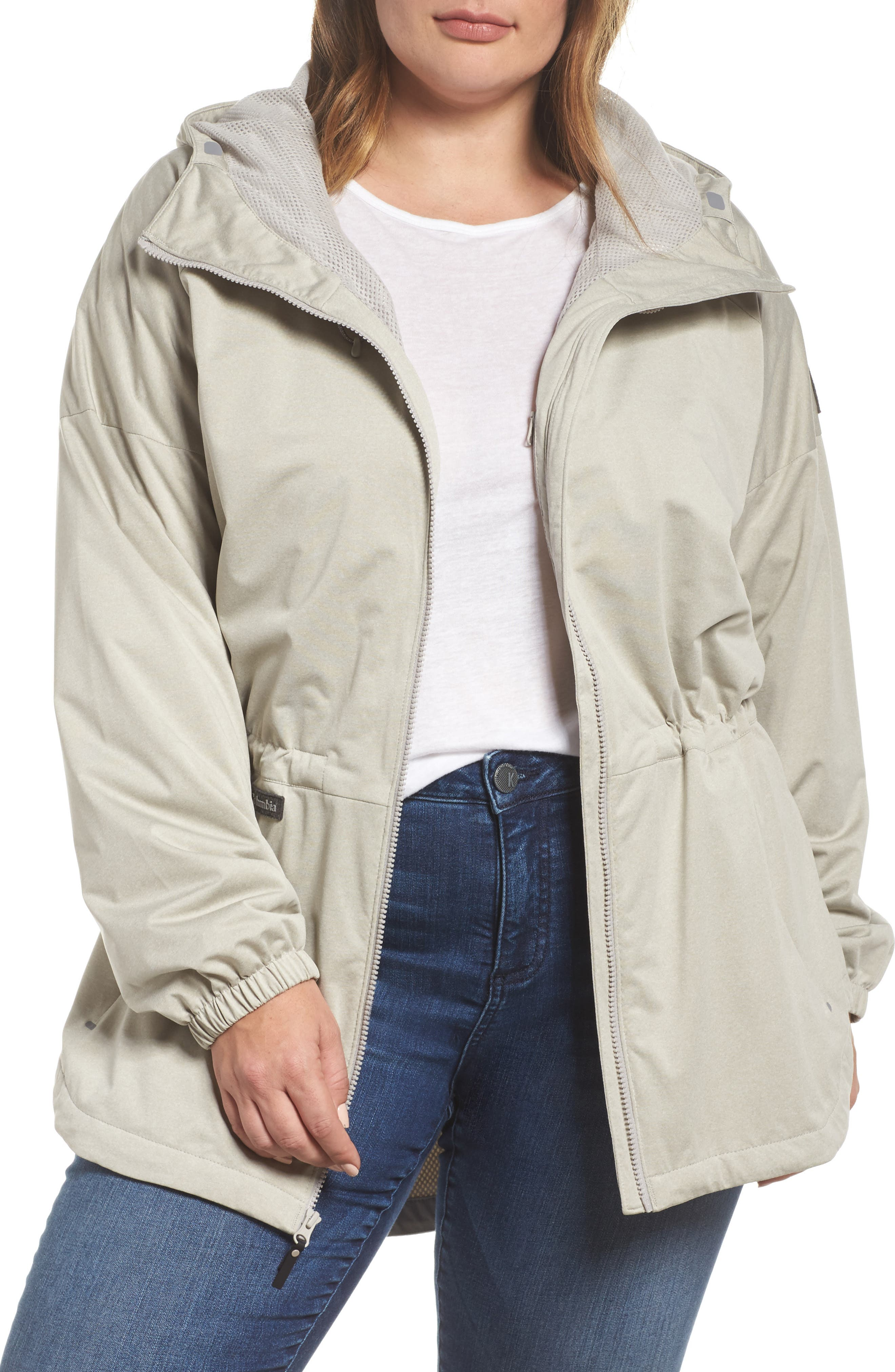 Main Image - Columbia Northbounder Waterproof Hooded Jacket (Plus Size)