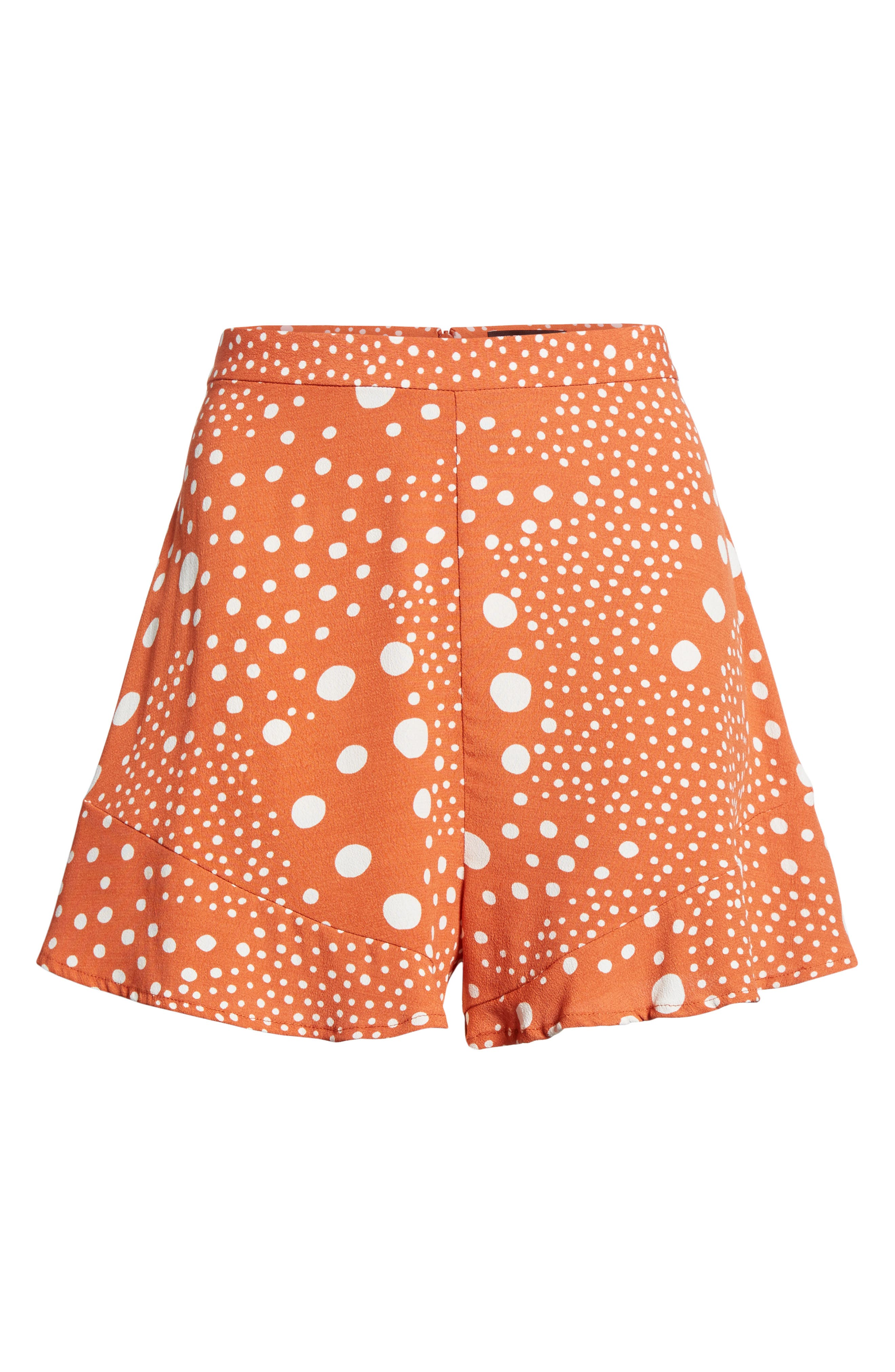 Alternate Image 8  - The Fifth Label Peppers Polka Dot Ruffle Hem Shorts