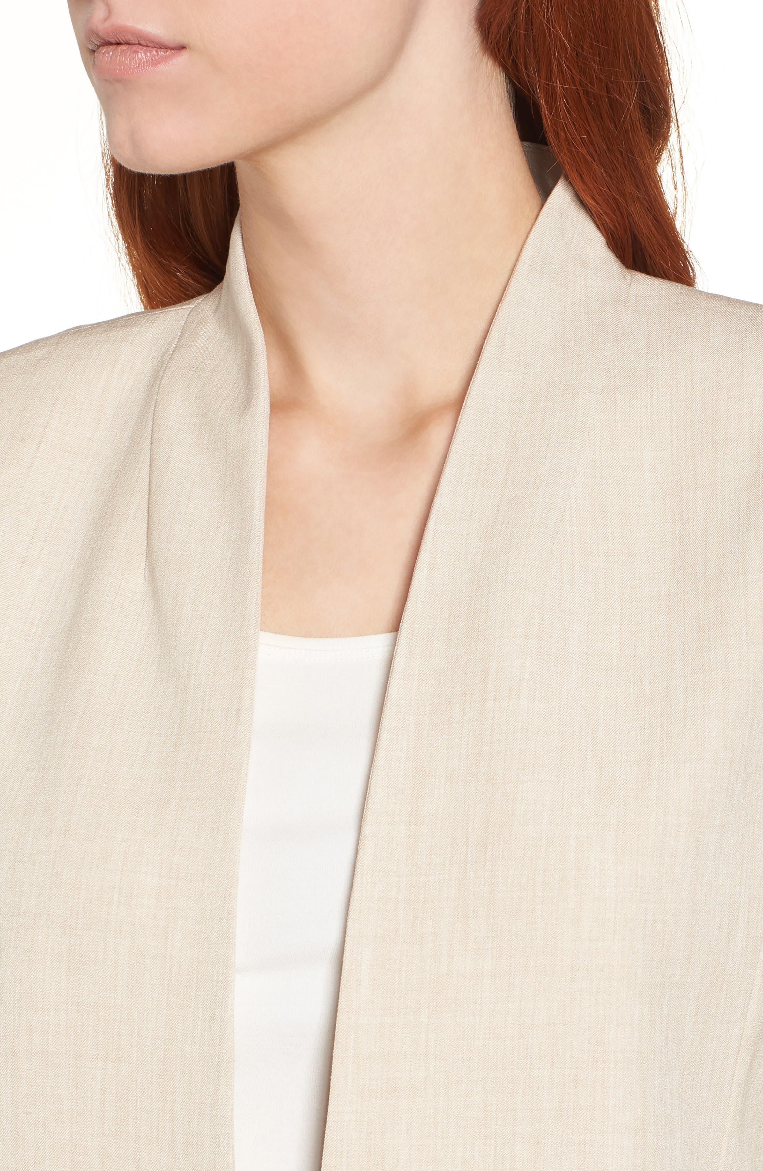 Alternate Image 4  - Eileen Fisher Long Open Front Jacket