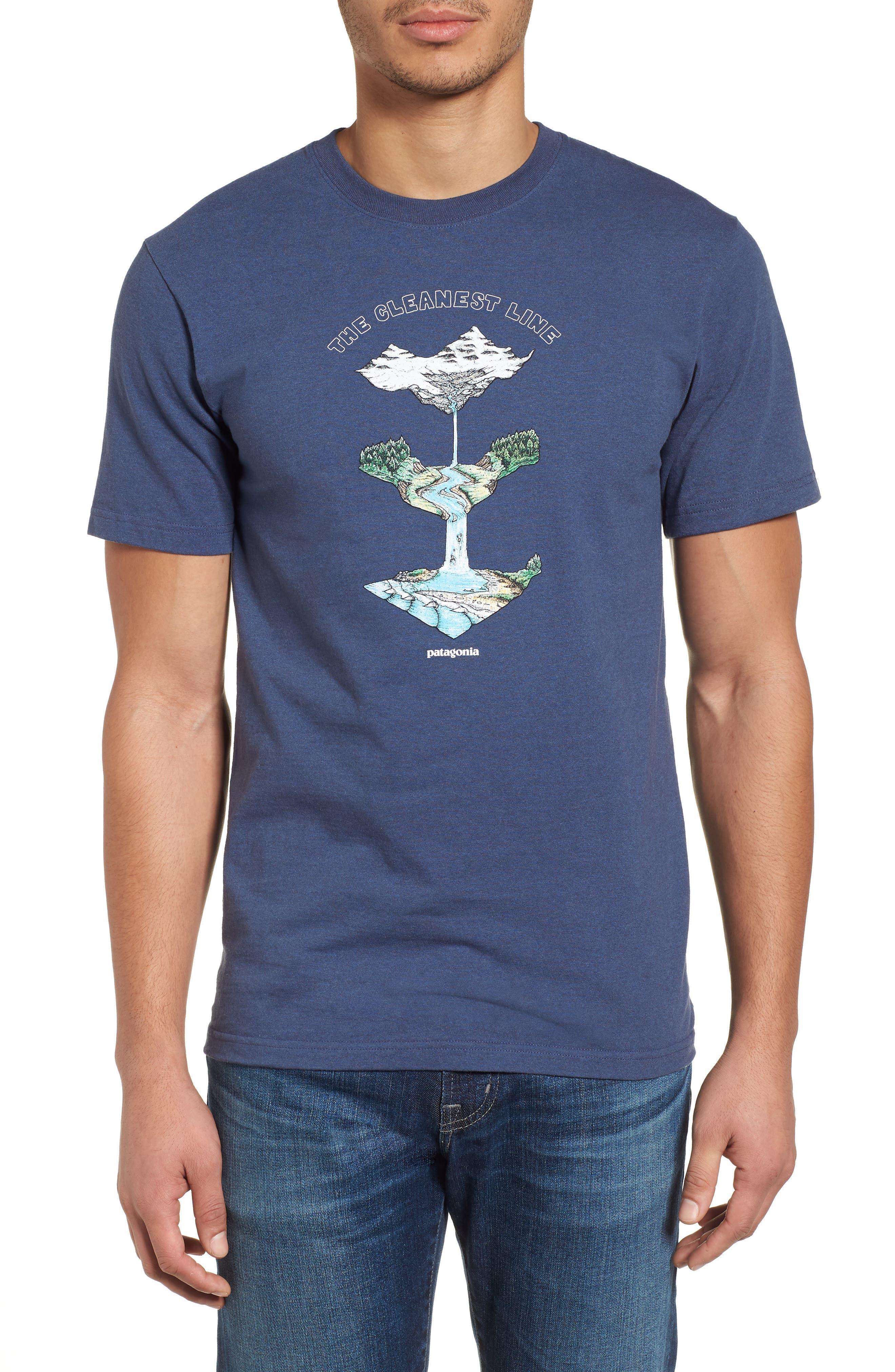 Glacier Born Responsibili-Tee T-Shirt,                         Main,                         color, Dolomite Blue