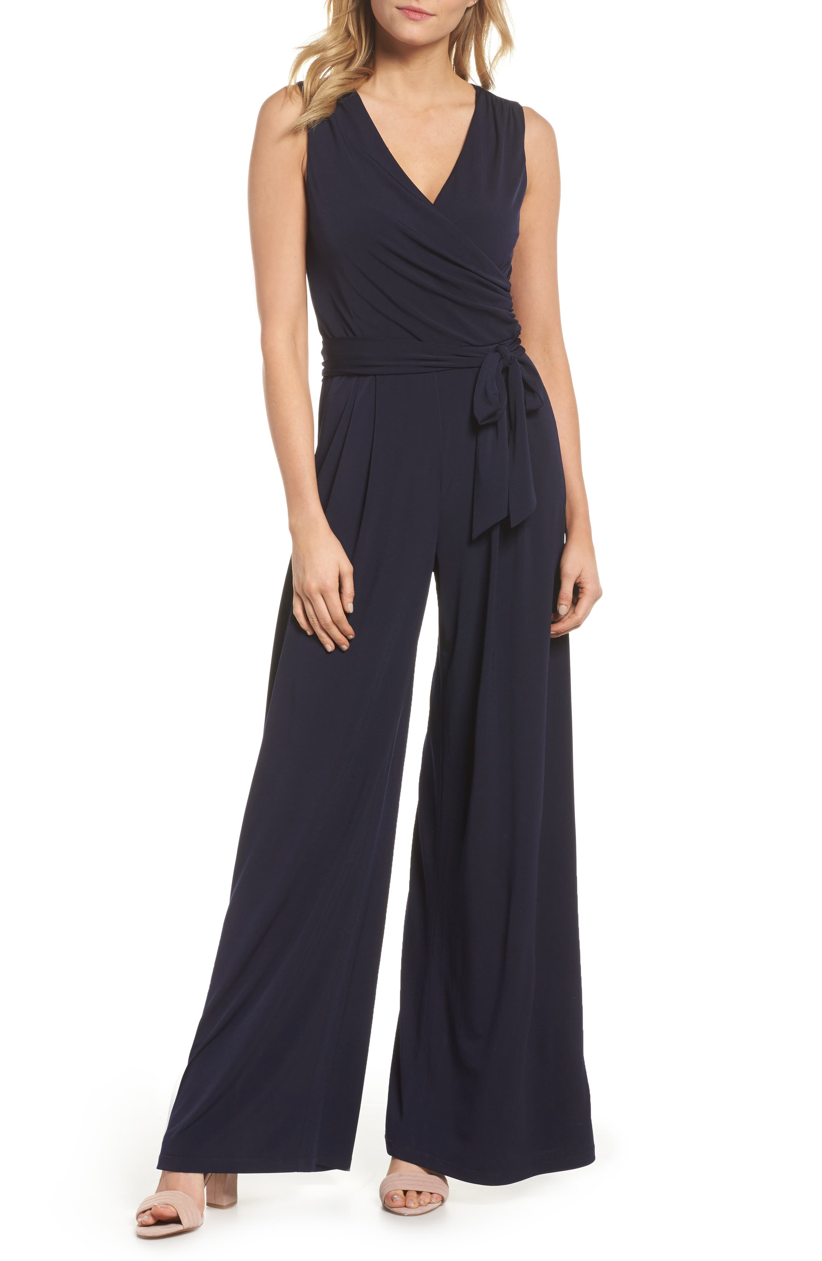 Eliza J Wide Leg Jumpsuit