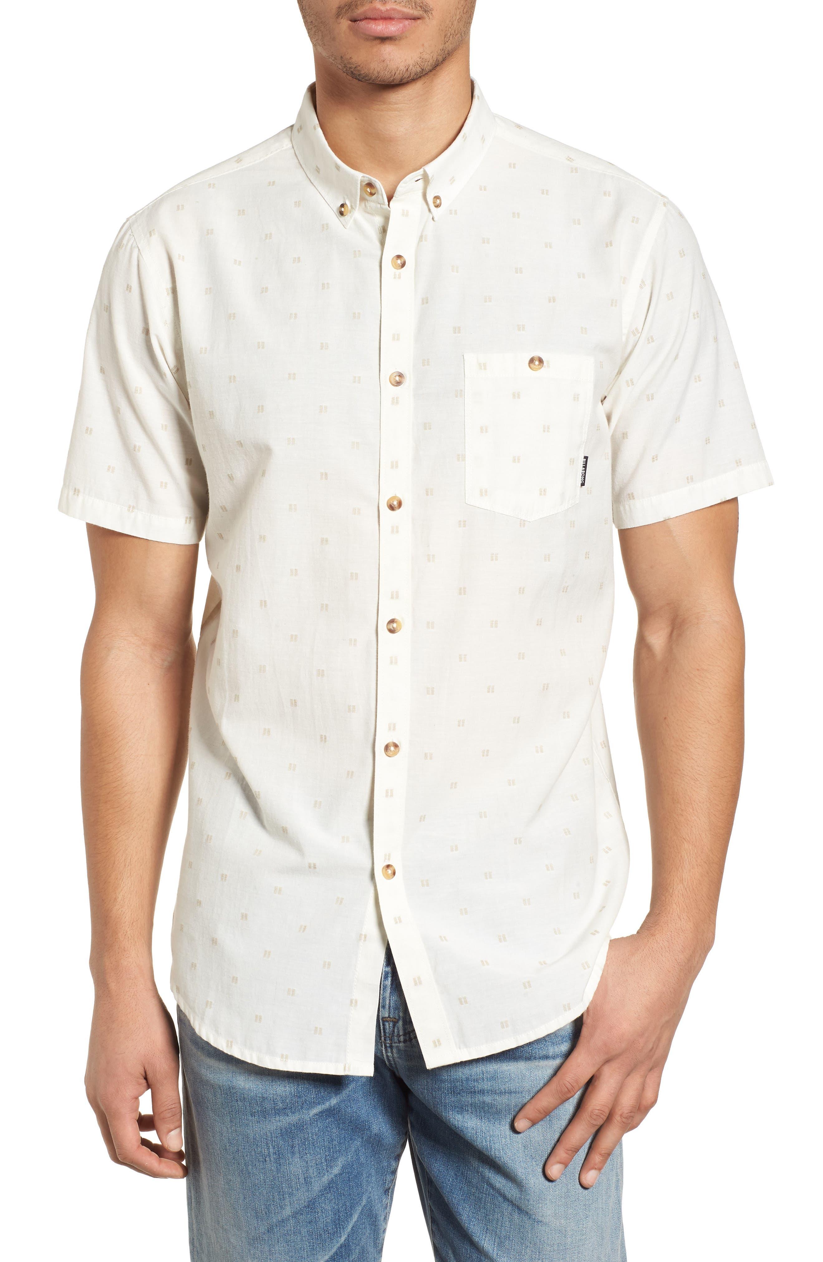 All Day Jacquard Shirt,                         Main,                         color, Rock
