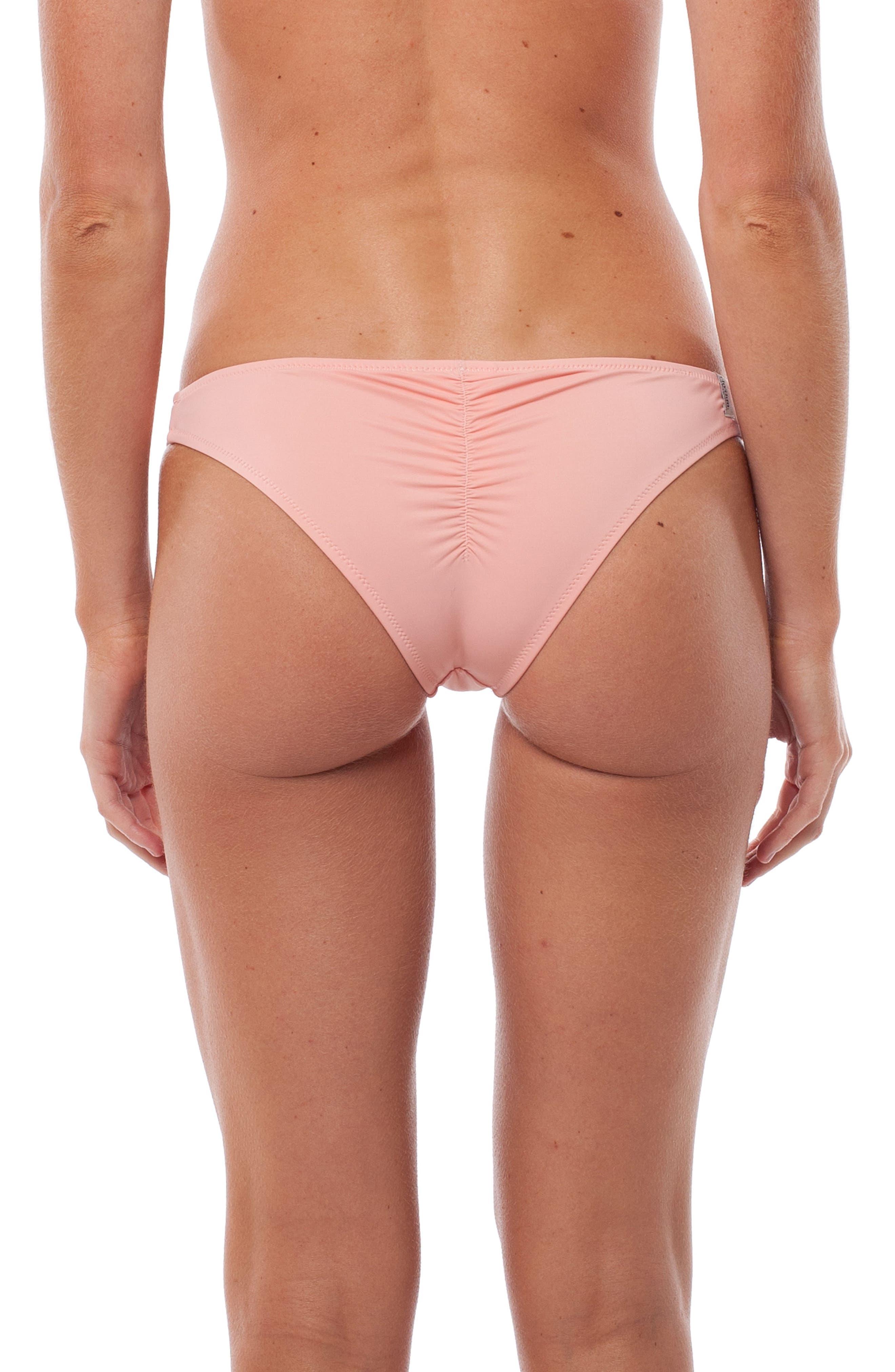 My Cheeky Bikini Bottoms,                             Alternate thumbnail 2, color,                             Flamingo