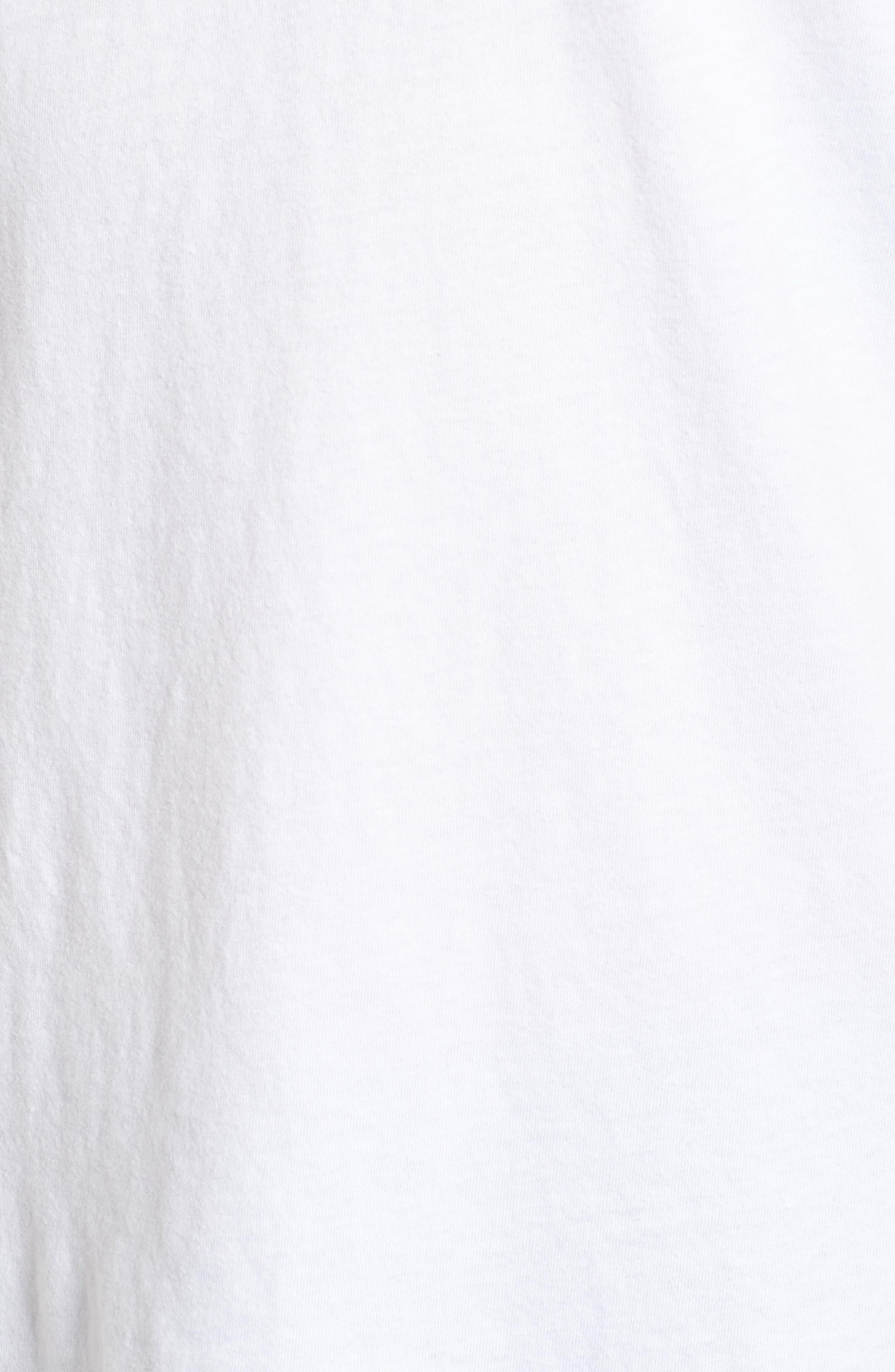 x Warhol Liberty T-Shirt,                             Alternate thumbnail 5, color,                             Vintage White
