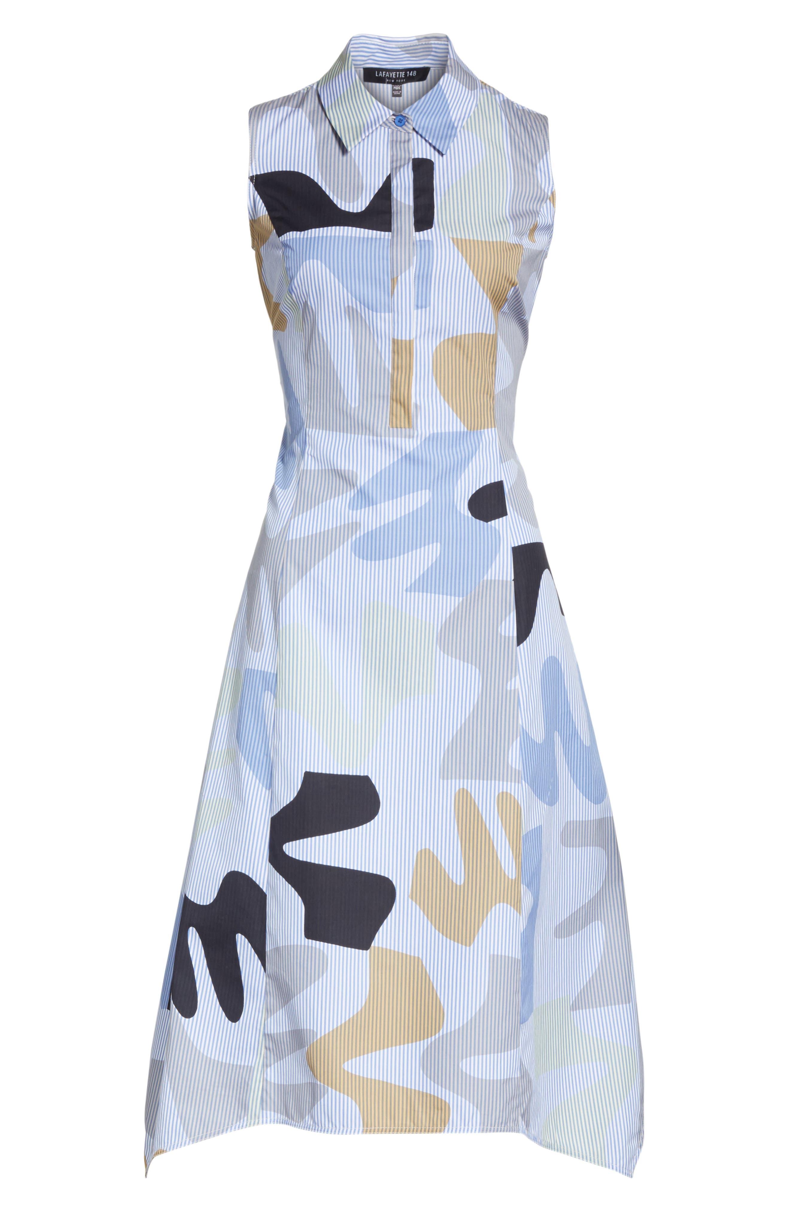 Cordelia Urban Ethos Stripe Dress,                             Alternate thumbnail 7, color,                             Periwinkle Multi