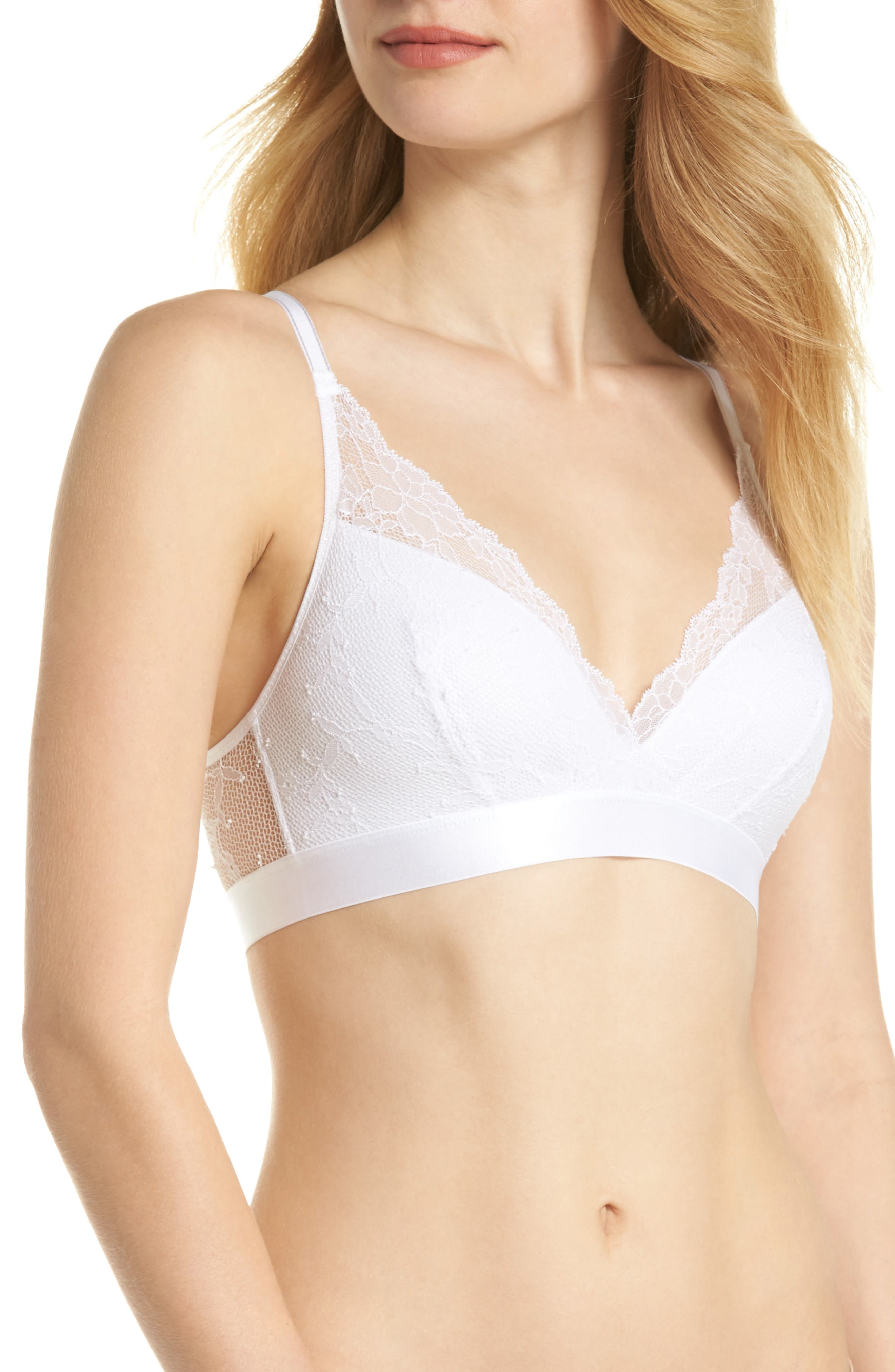 Alternate Image 1 Selected - Chantelle Intimates Everyday Lace Racerback Bralette