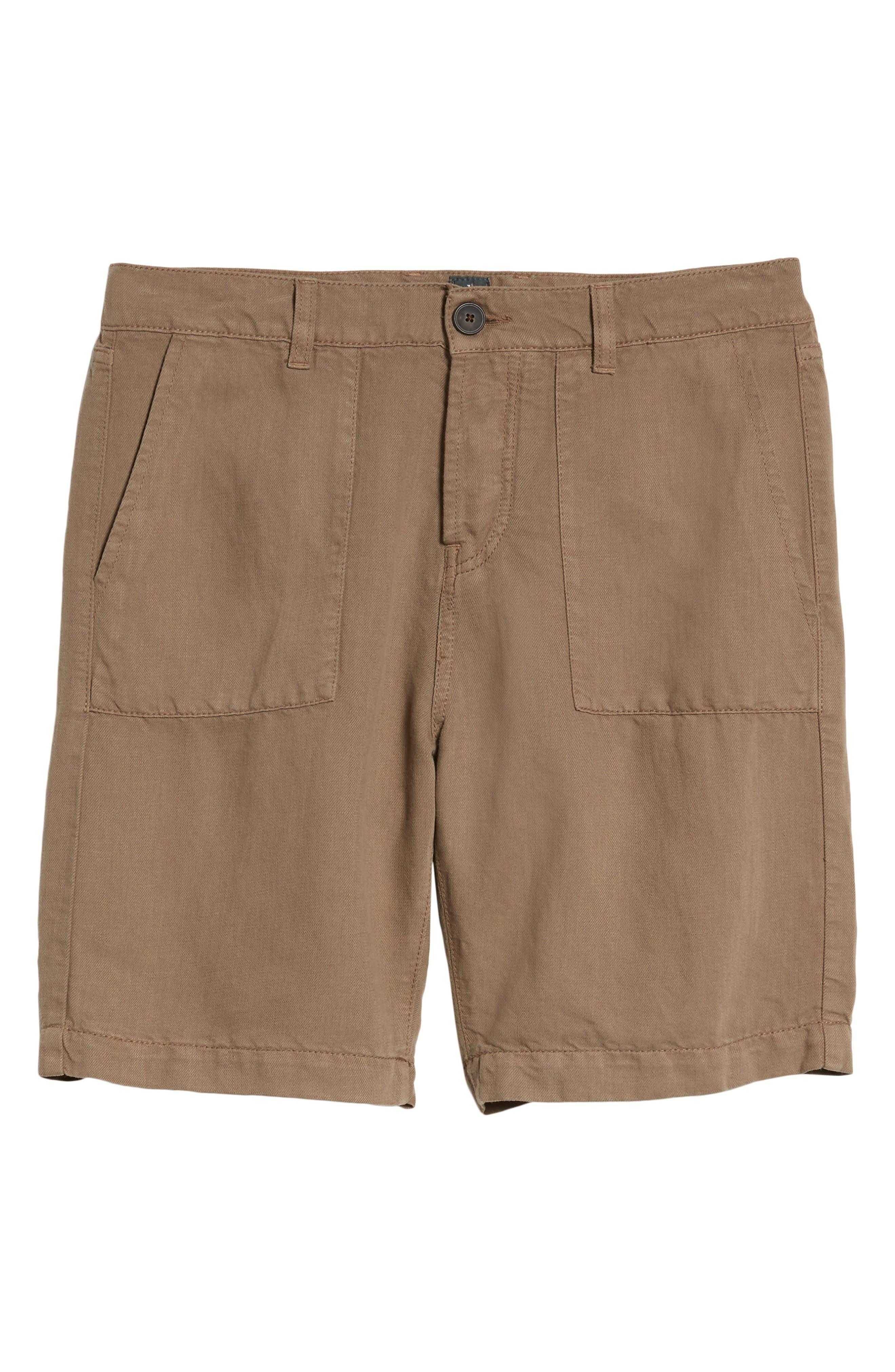 Fatique Bermuda Shorts,                             Alternate thumbnail 6, color,                             Taupe
