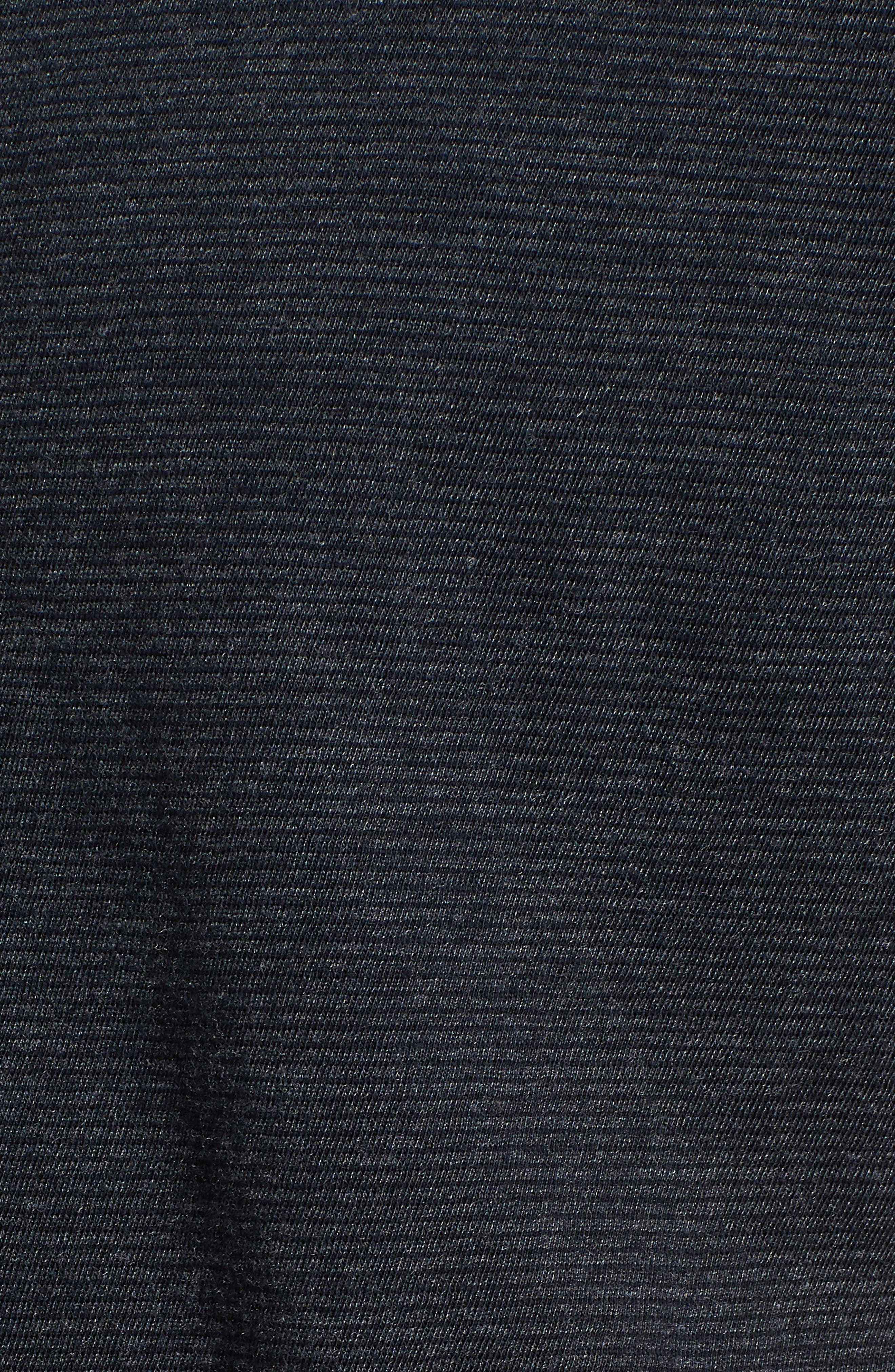 Hunter Slim Fit Henley,                             Alternate thumbnail 5, color,                             Carbon Blue