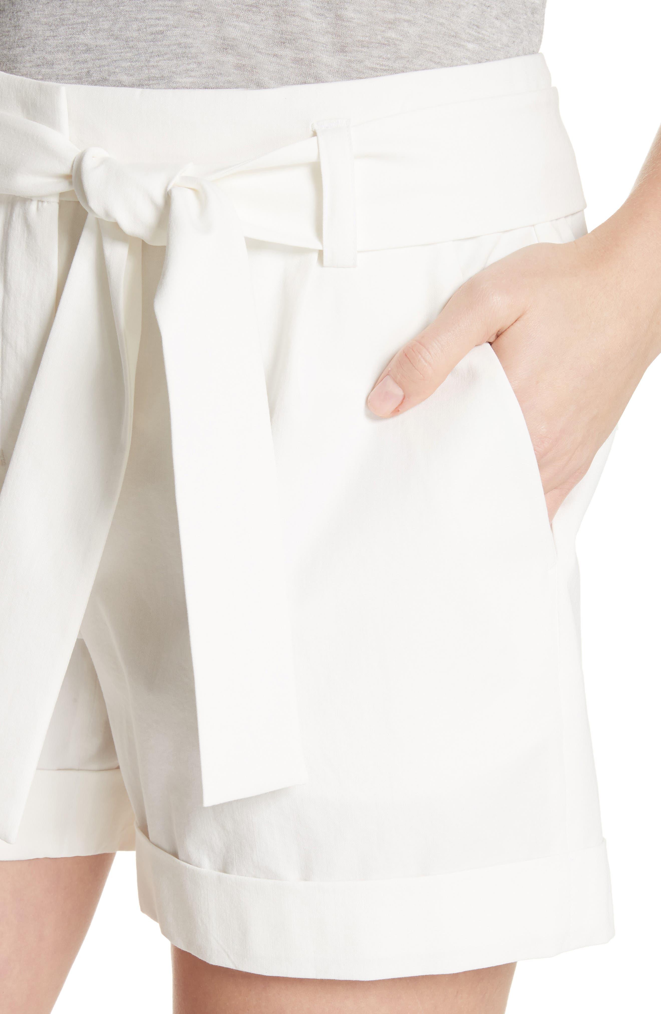 Greenpoint City Shorts,                             Alternate thumbnail 4, color,                             White