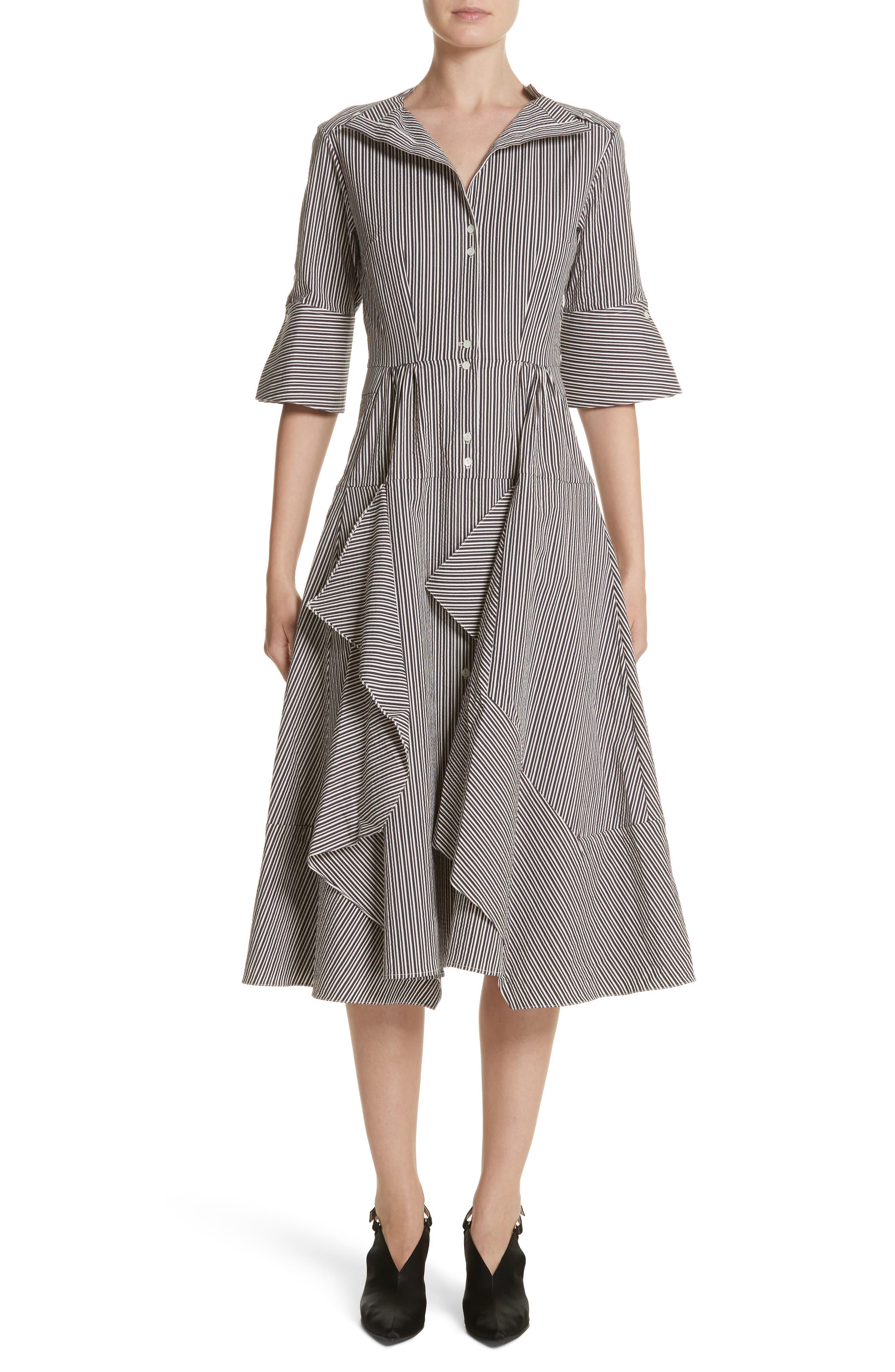PALMER//HARDING April Stripe Shirtdress