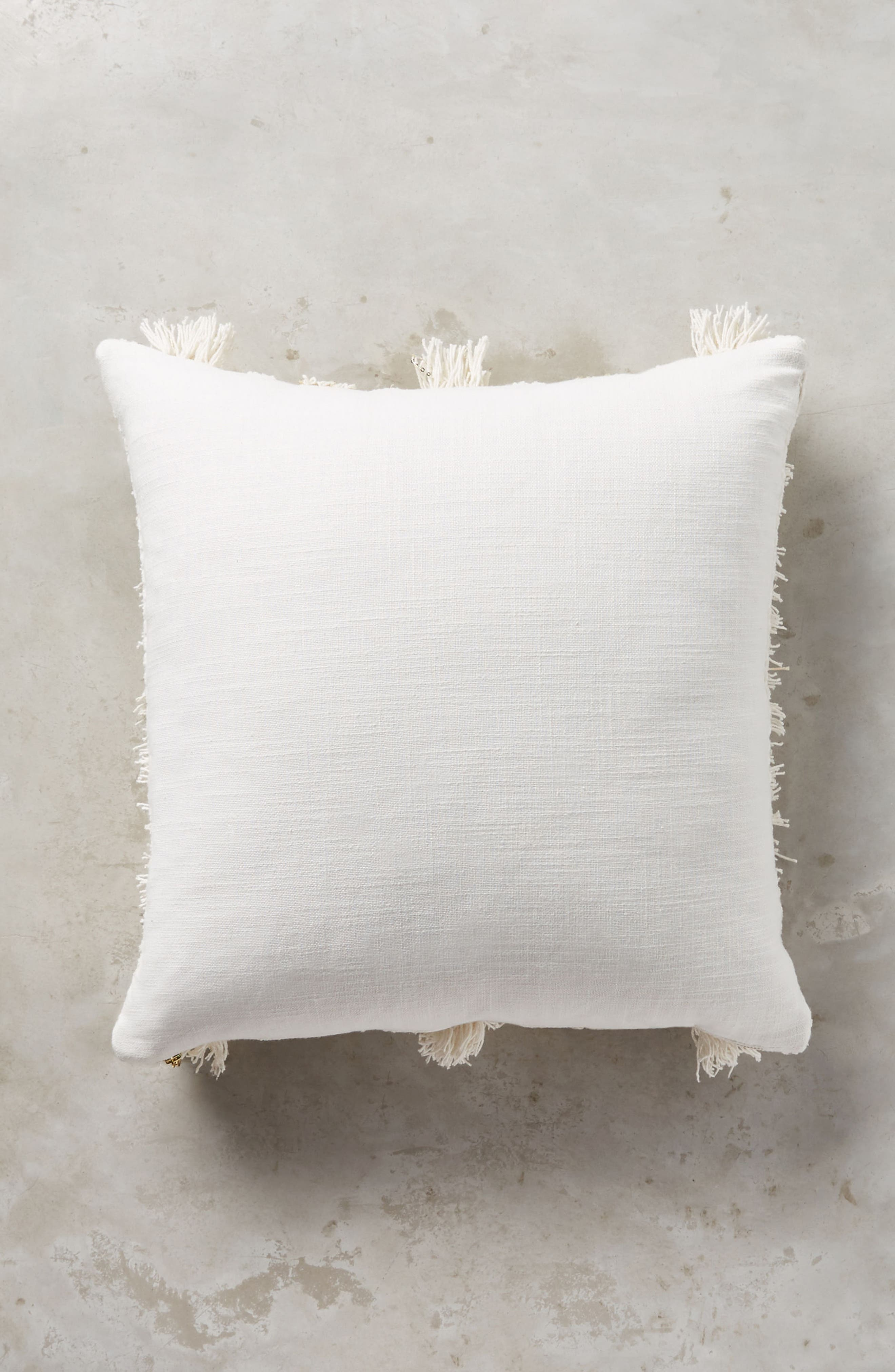 Indira Accent Pillow,                             Alternate thumbnail 2, color,                             White/ Ivory