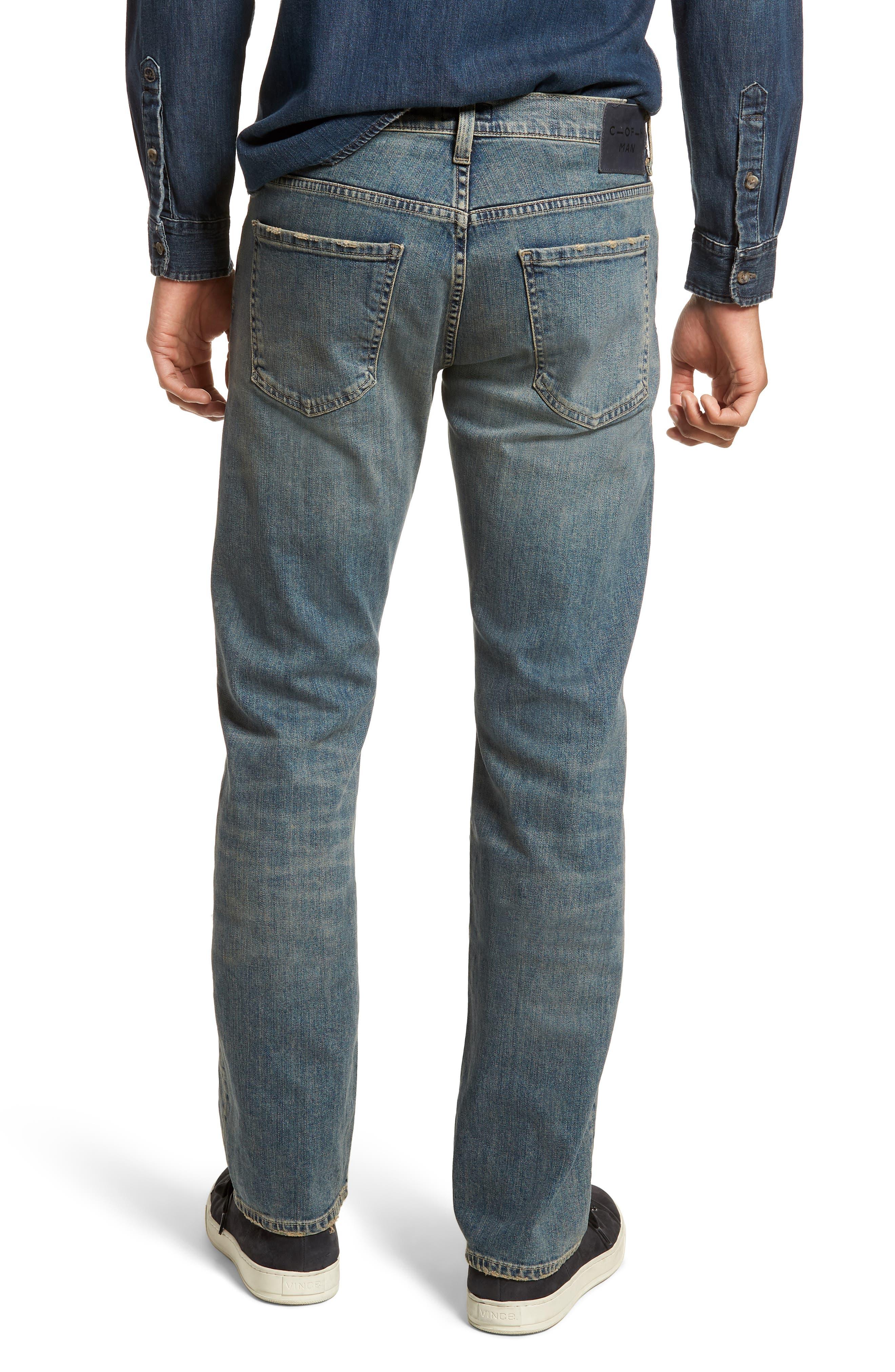 Sid Straight Leg Jeans,                             Alternate thumbnail 2, color,                             Hillcrest