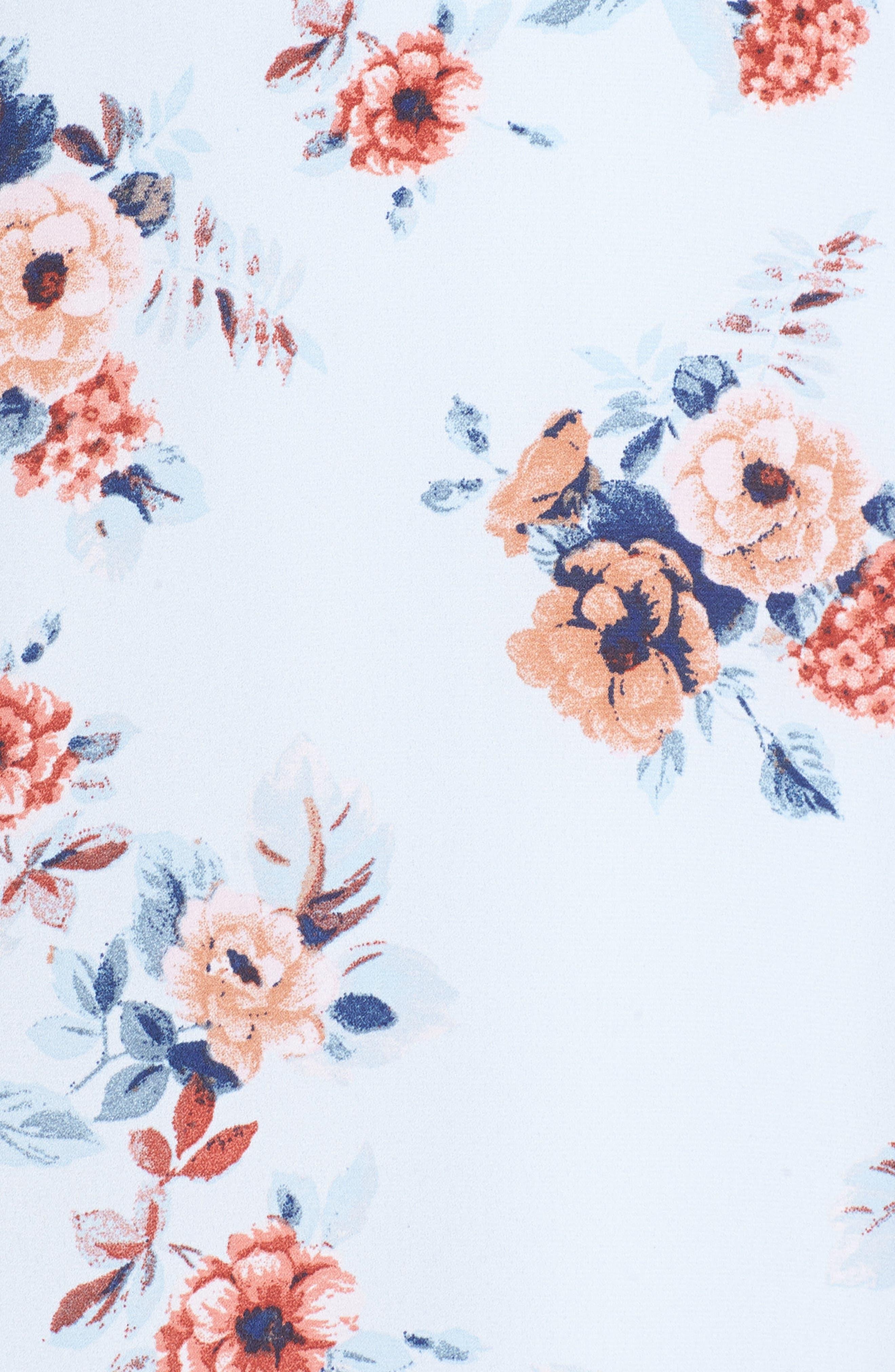 Alternate Image 5  - Dee Elly Floral Maxi Dress