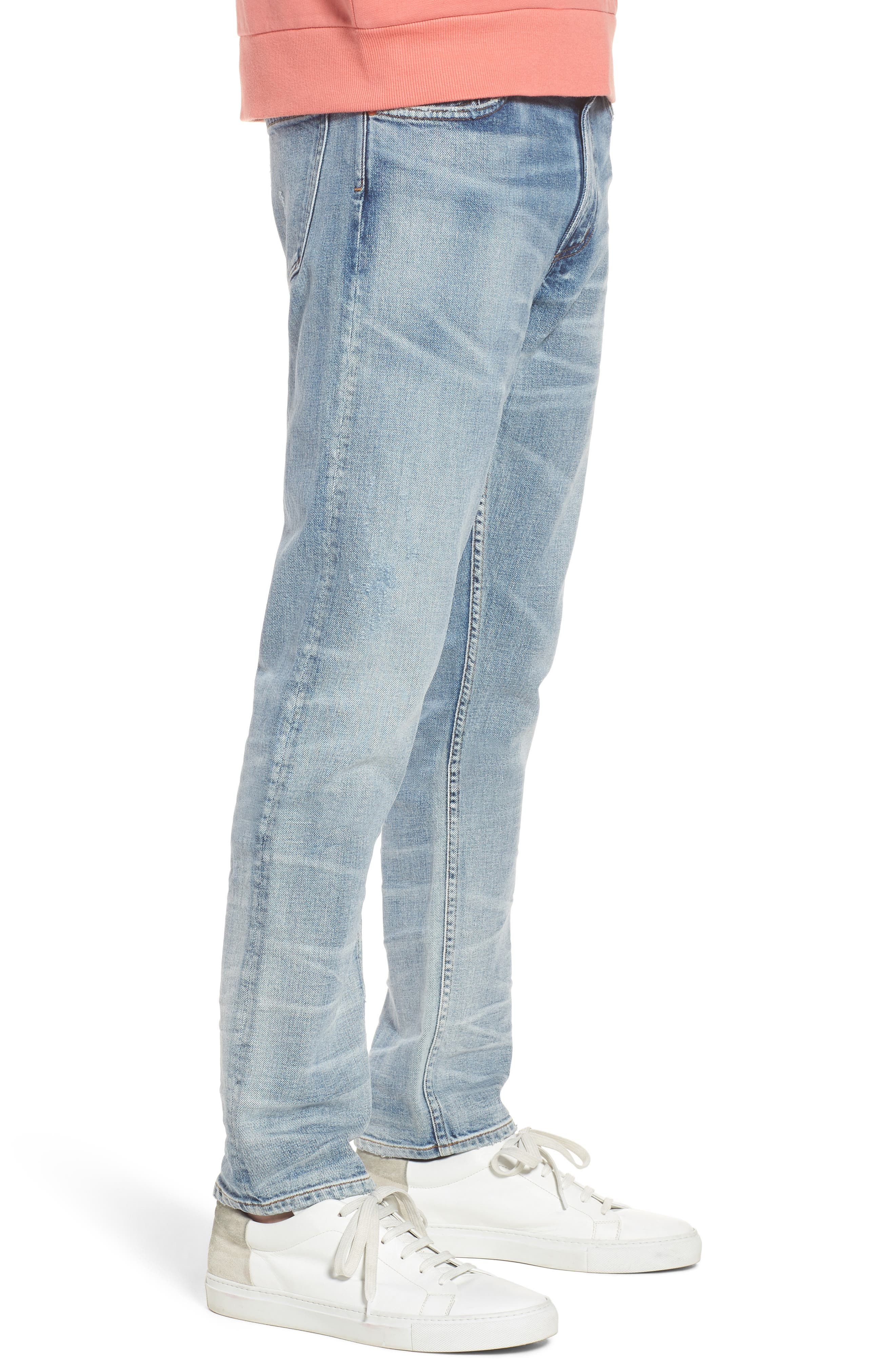 Bowery Slim Fit Jeans,                             Alternate thumbnail 3, color,                             Lone Pine