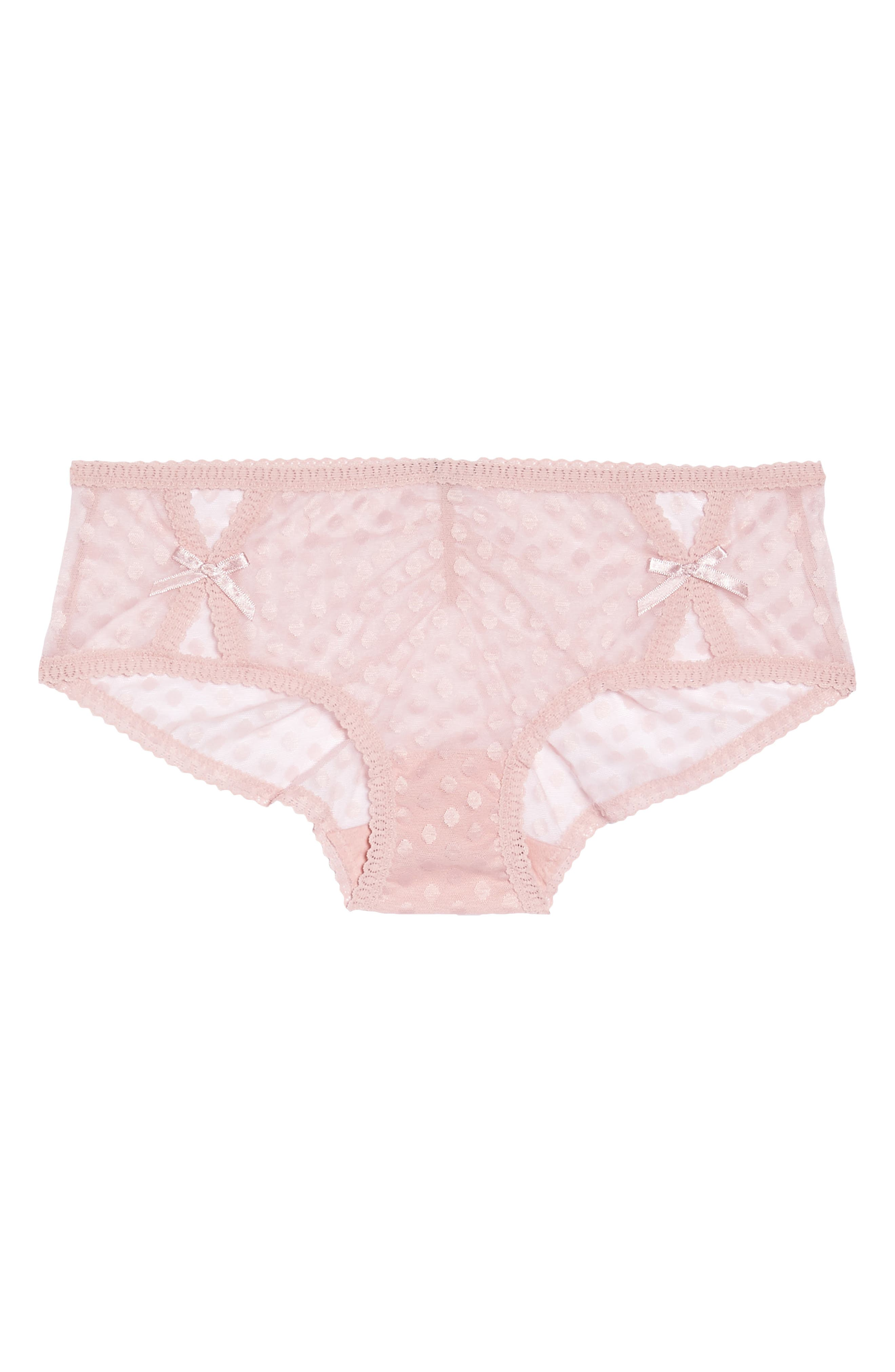 Alternate Image 1 Selected - Sam Edelman Peekaboo Hipster Briefs (3 for $33)