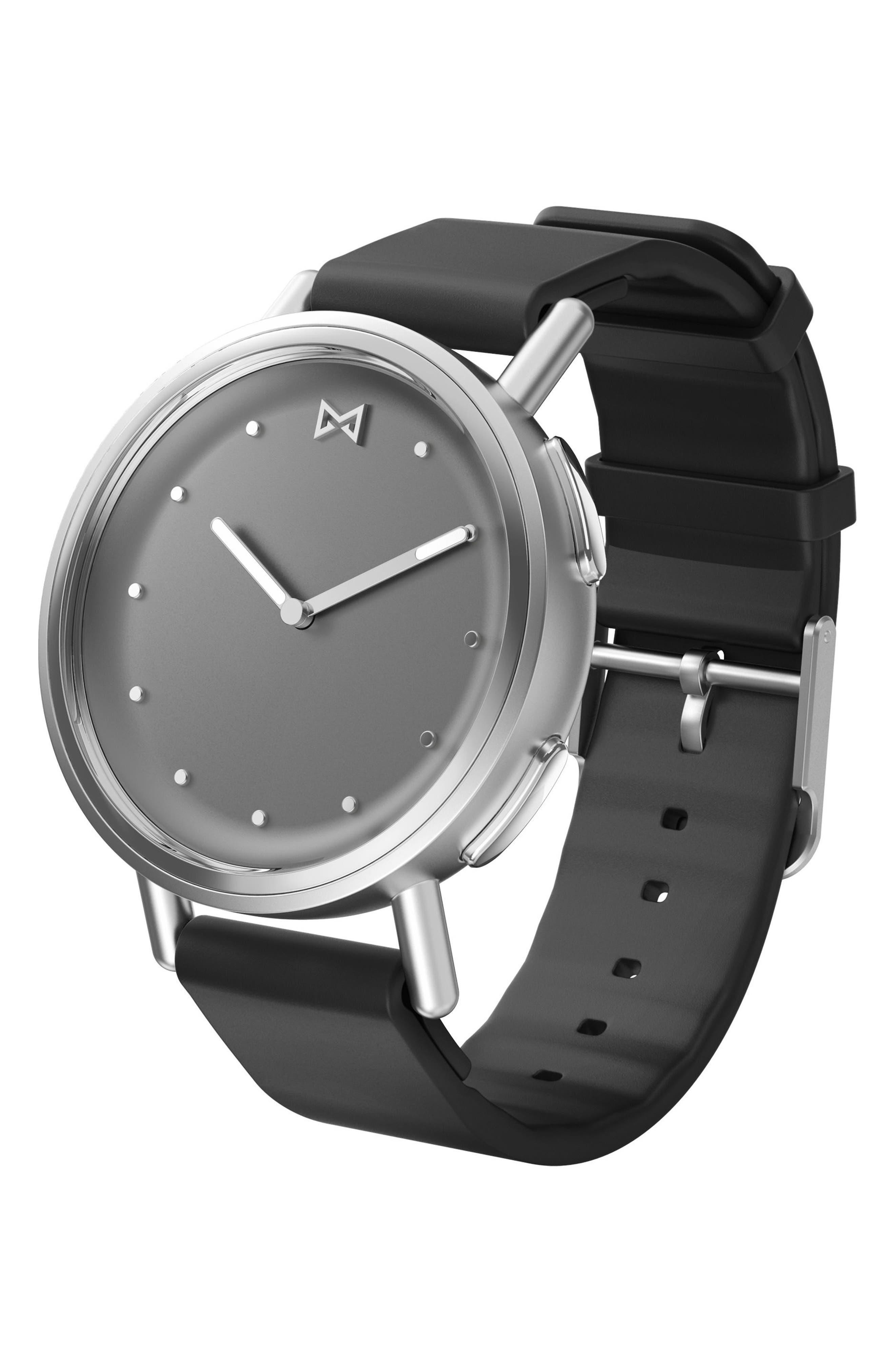 Path Strap Smartwatch, 36mm,                             Main thumbnail 1, color,                             Black