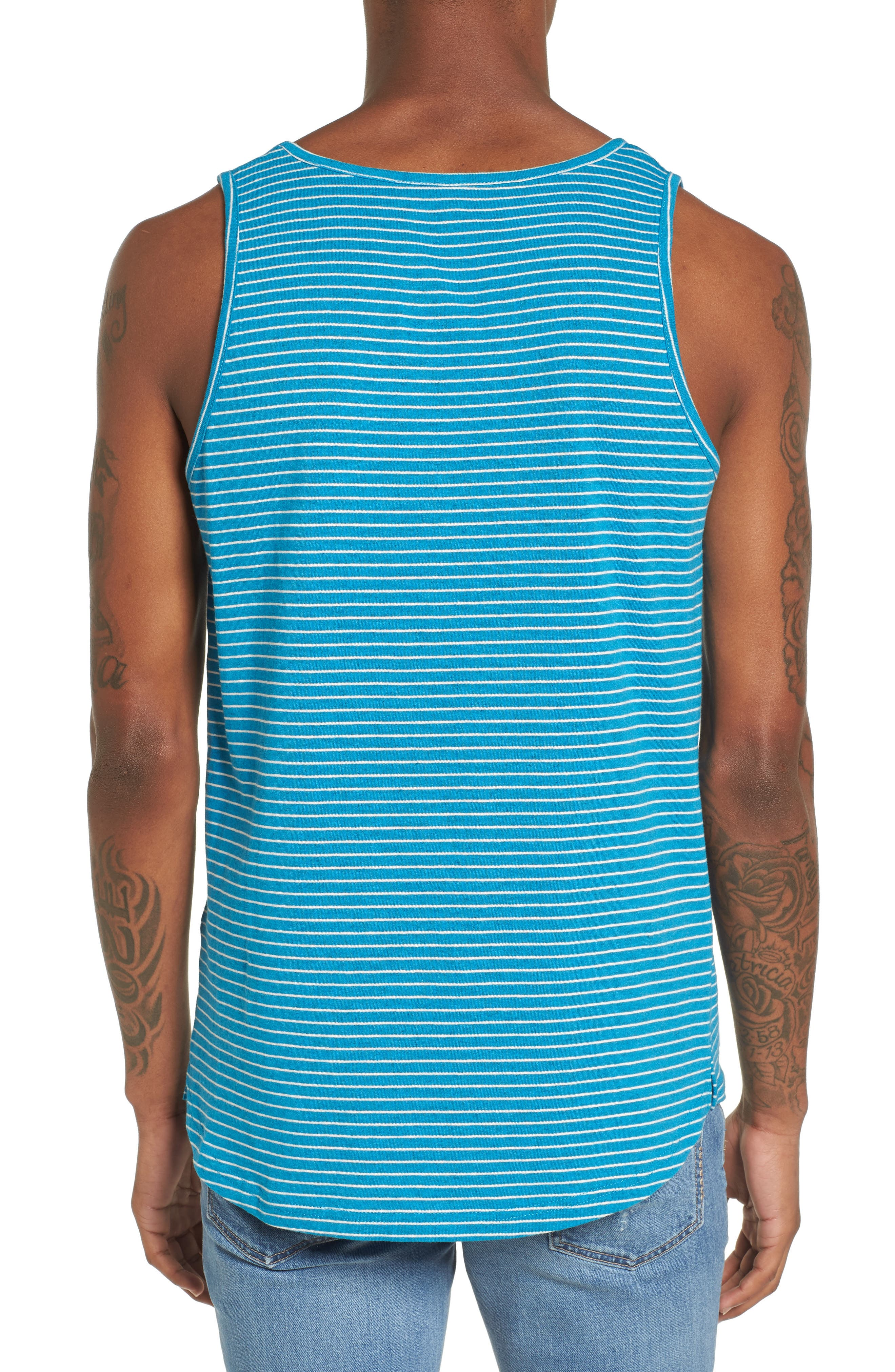 Boost Tank,                             Alternate thumbnail 2, color,                             Teal