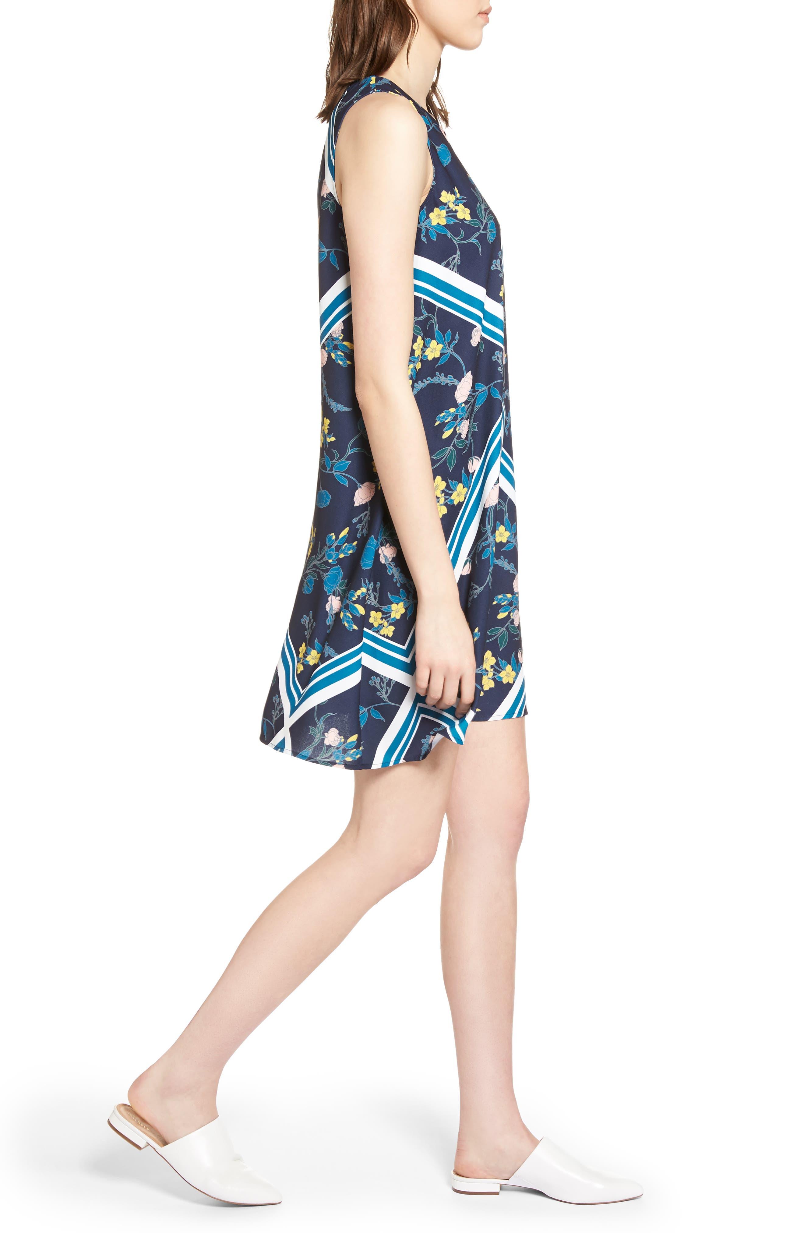 Alternate Image 3  - Halogen® A-Line Dress (Regular & Petite)