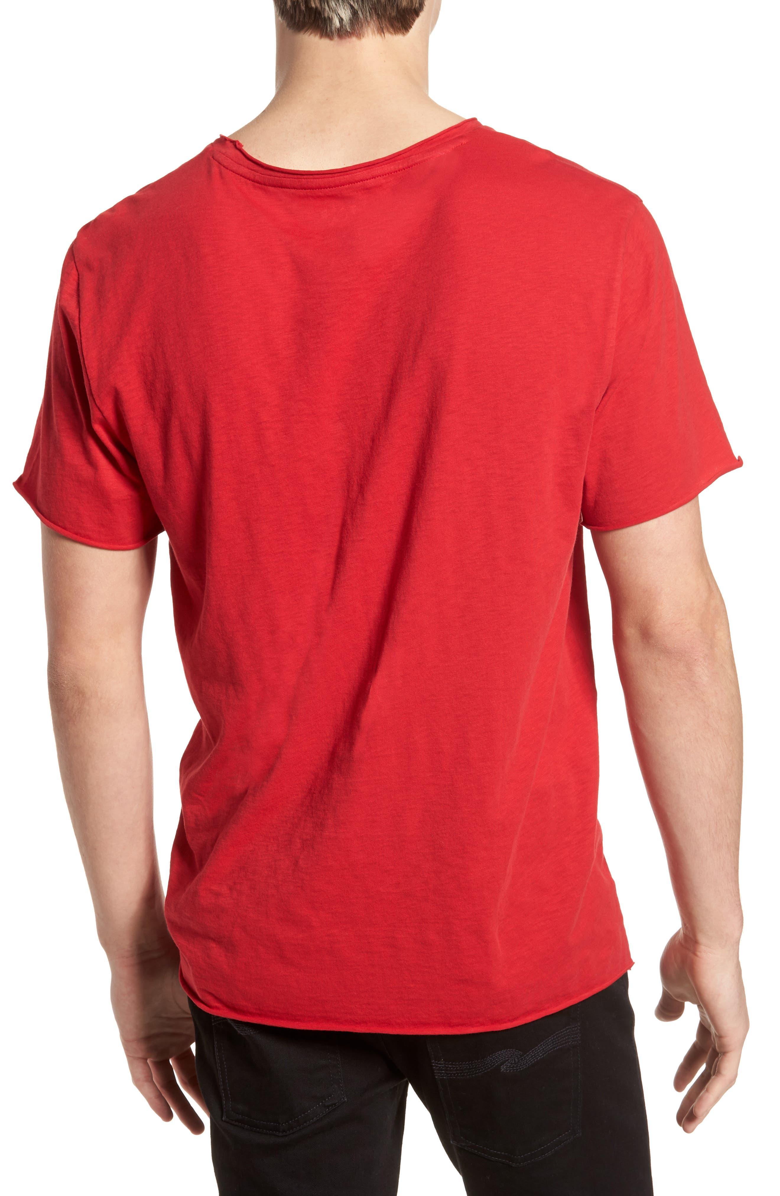 Sex Pistols Crewneck T-Shirt,                             Alternate thumbnail 2, color,                             Red Sex Pistols