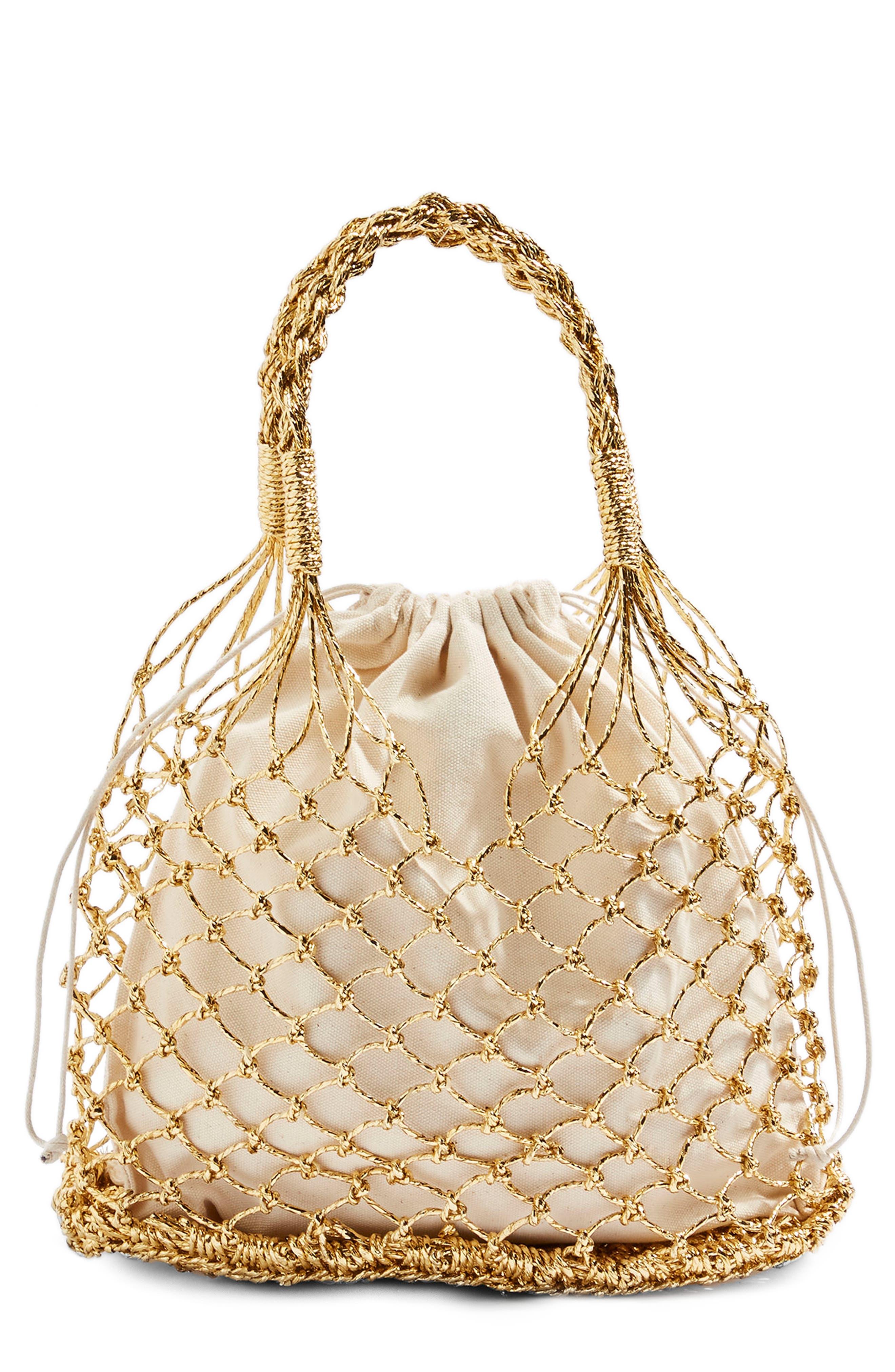 Topshop Shakira Woven Shopper