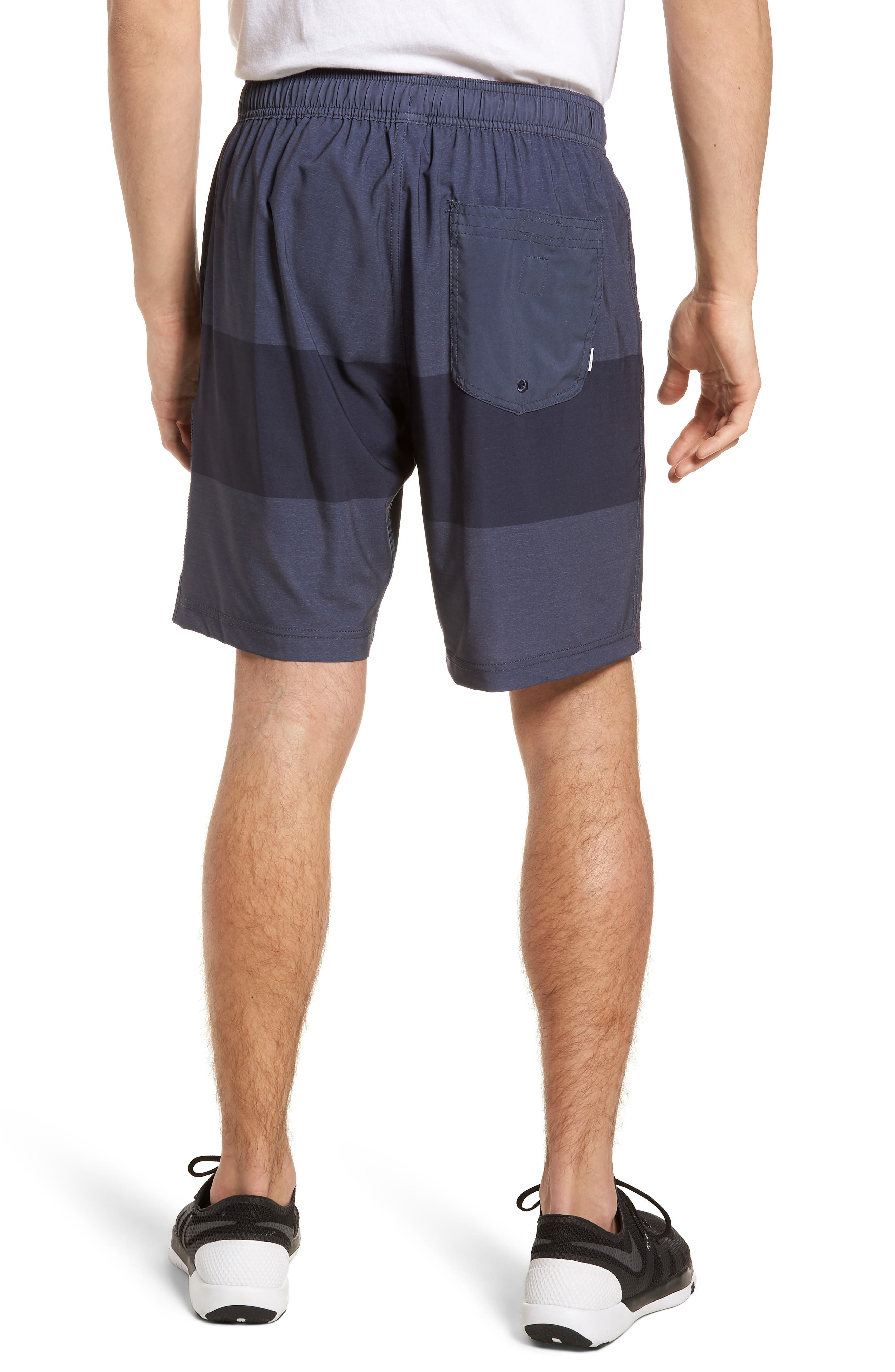 Kore Shorts,                             Alternate thumbnail 2, color,                             Navy Texture Block